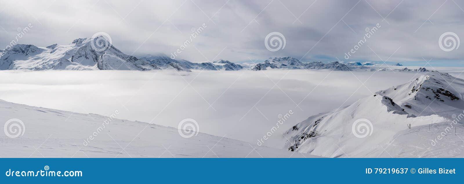 высокогорный ландшафт