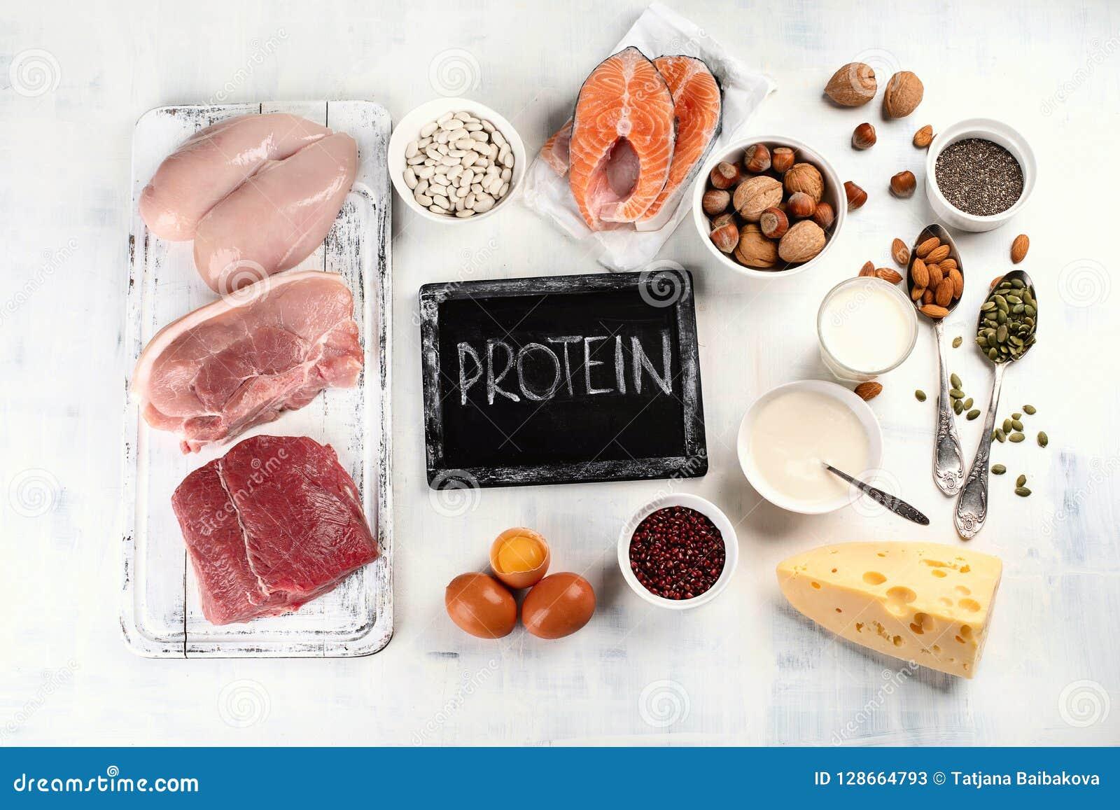 Высоко- еда протеина