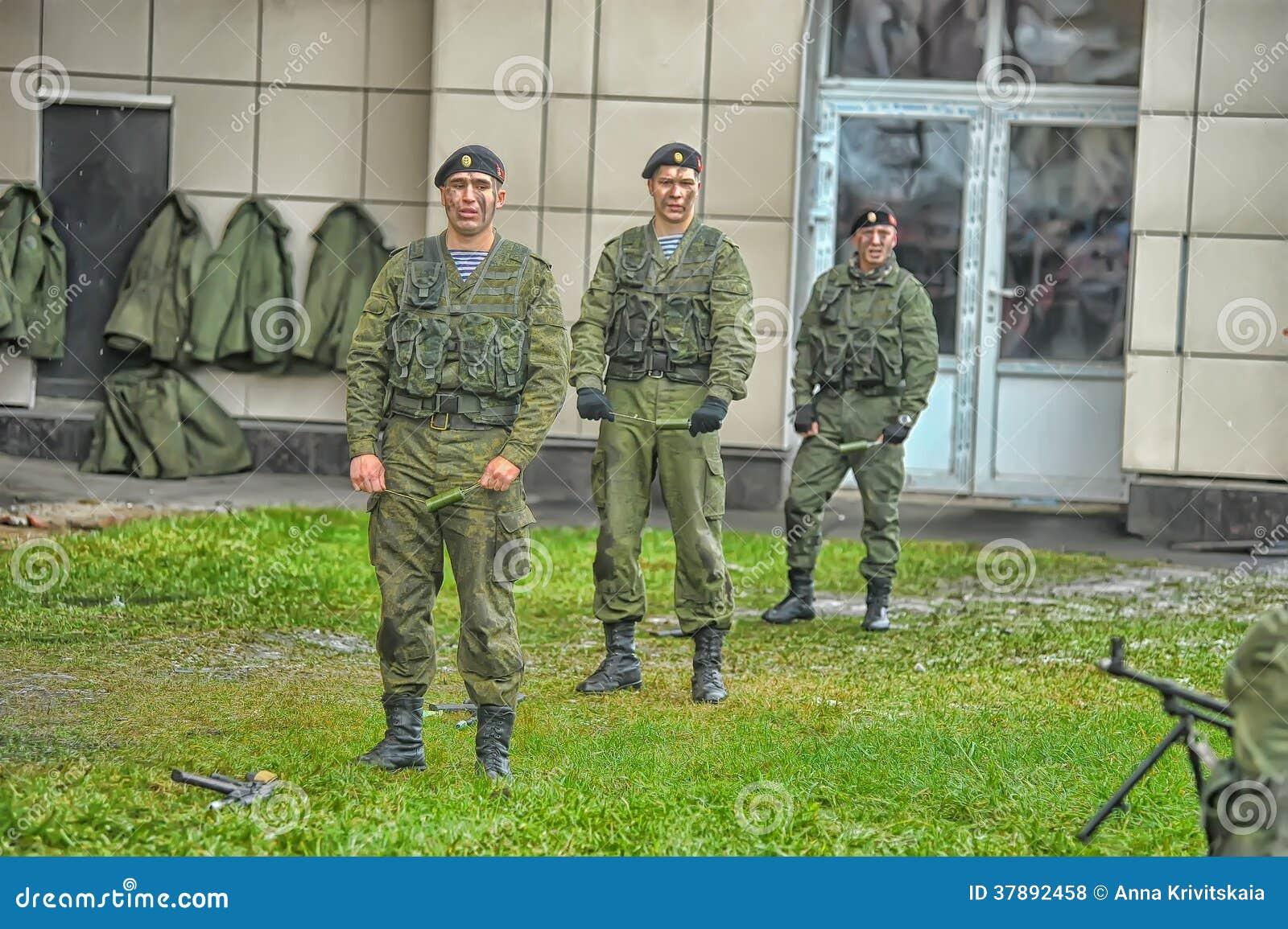 Выставка морской пехот