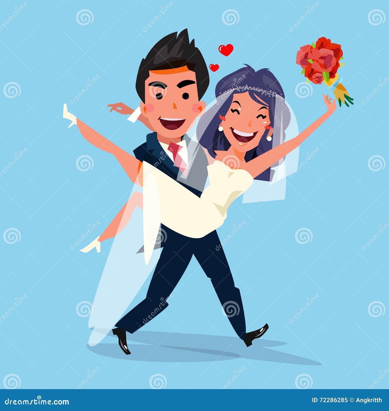 Download Выхольте невесту нося держа ее в его оружии влюбленность и Wedding C Иллюстрация штока - иллюстрации насчитывающей супруг, мужчина: 72286285