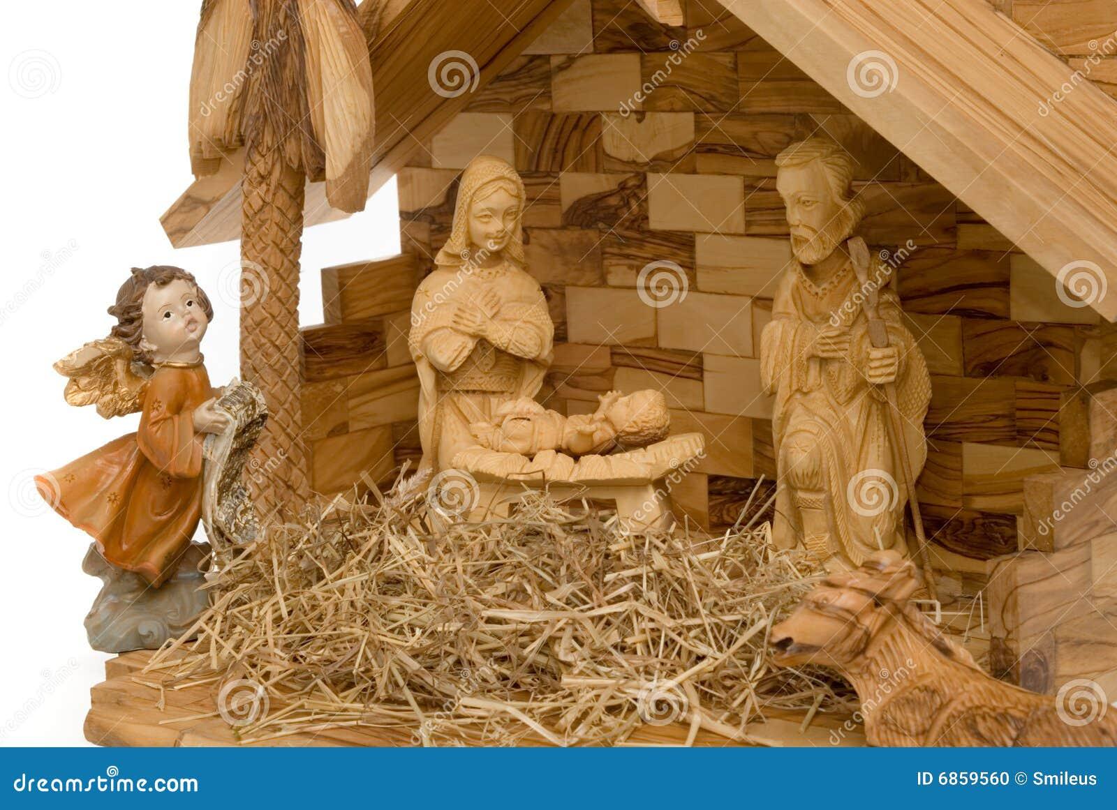 вычисляет место рождества деревянное