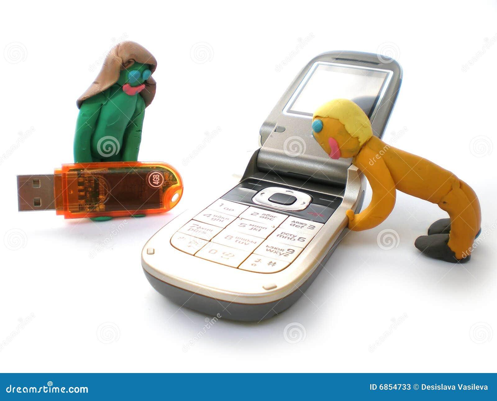вычисляет usb пластилина телефонов людей