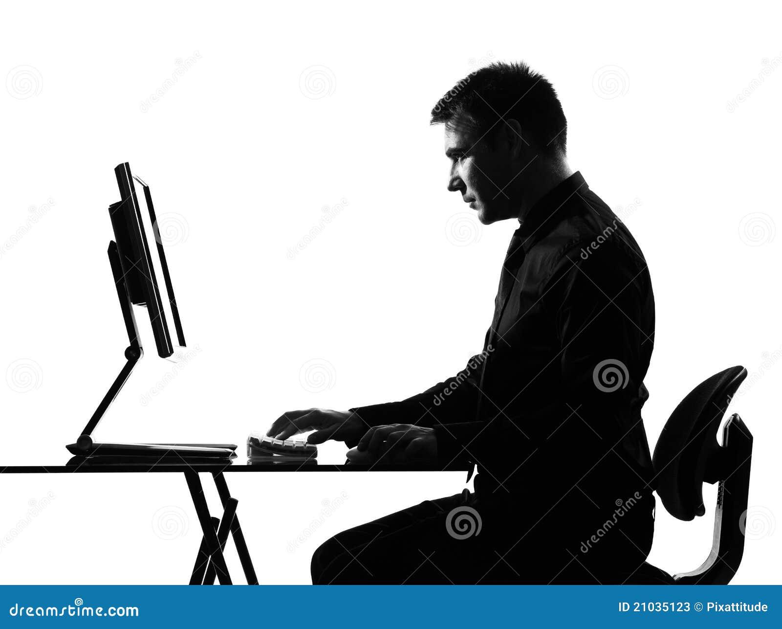 картинка человека силуэт