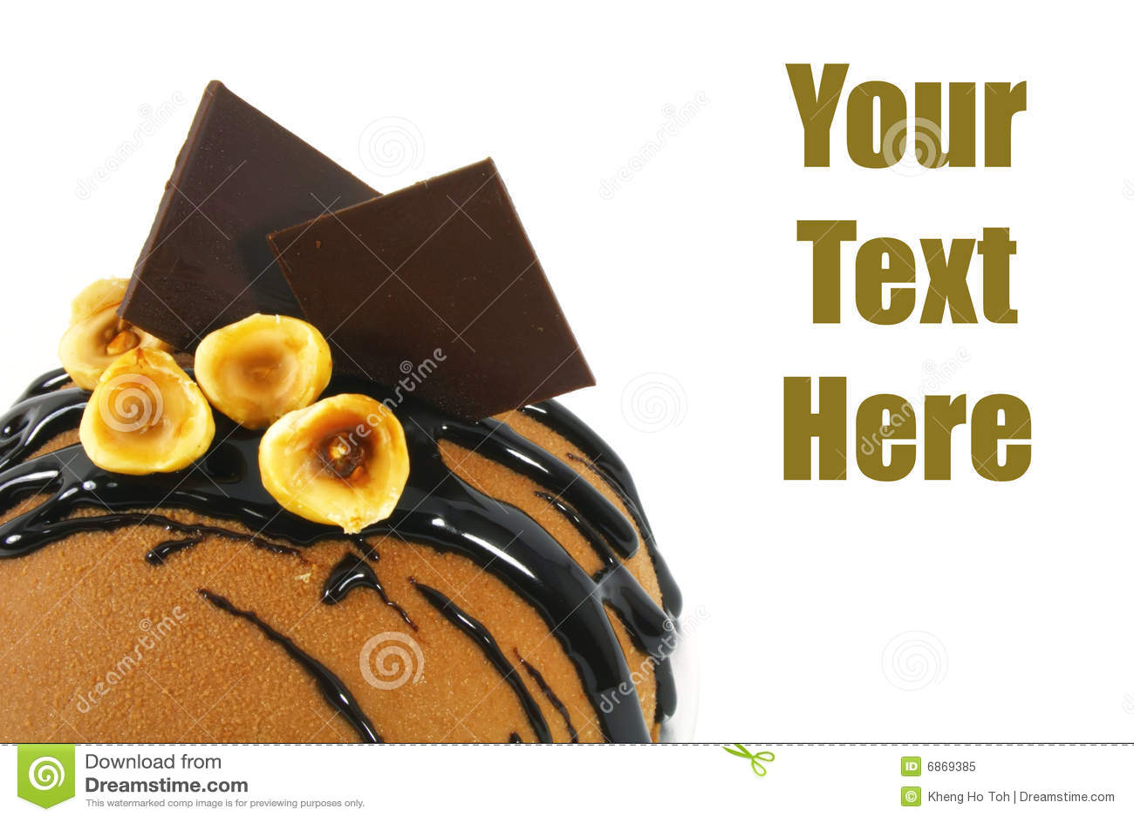 вычура шоколада торта