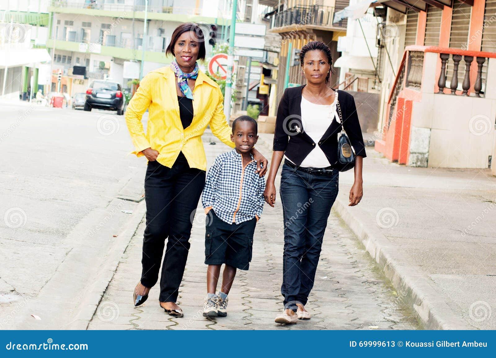 Вылазка семьи