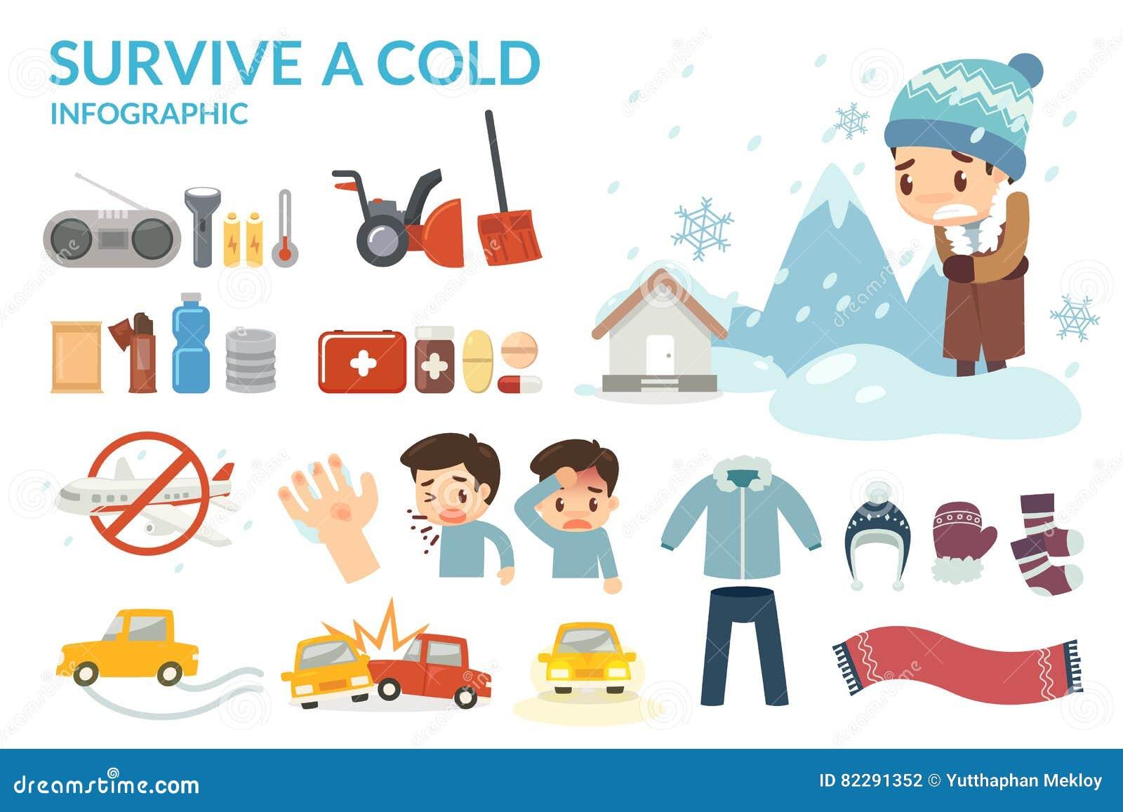 Выдержите холод Холод и опасность зимы Зима приходит Подготовьте на зима