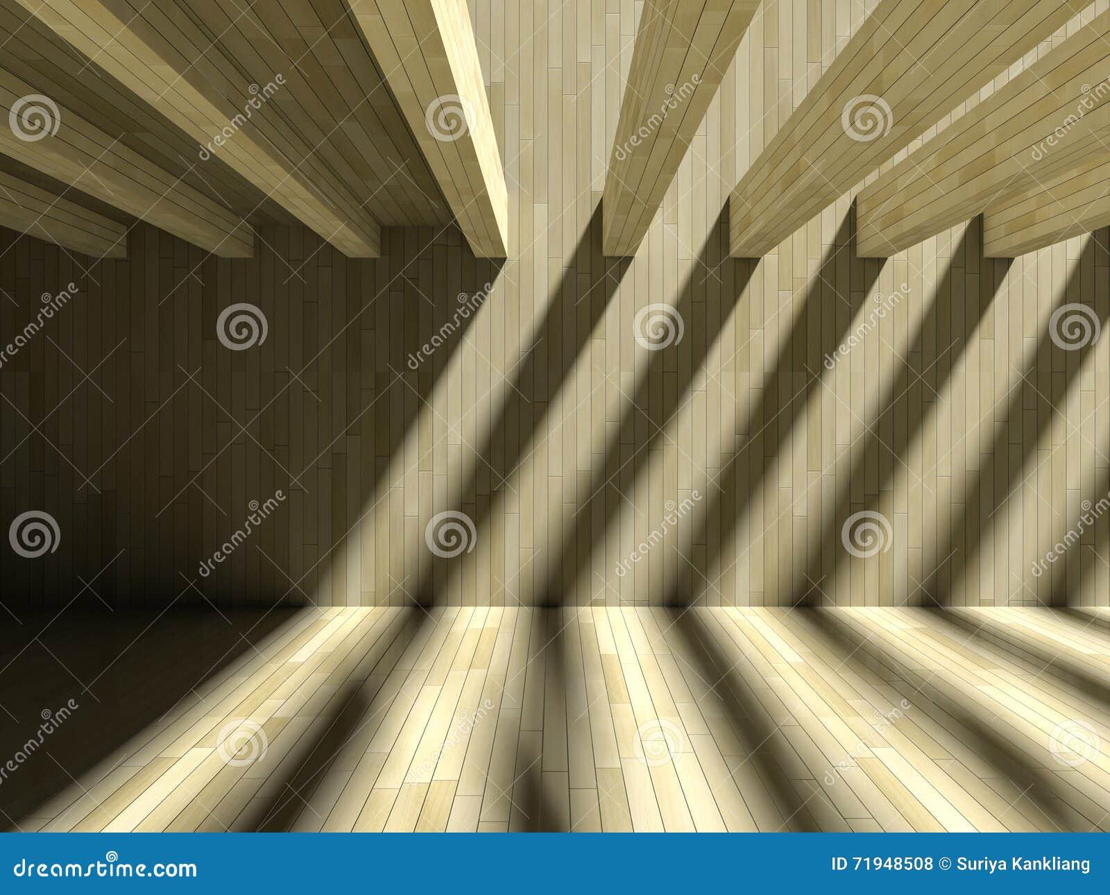 влияние тени 3D на стене & поле