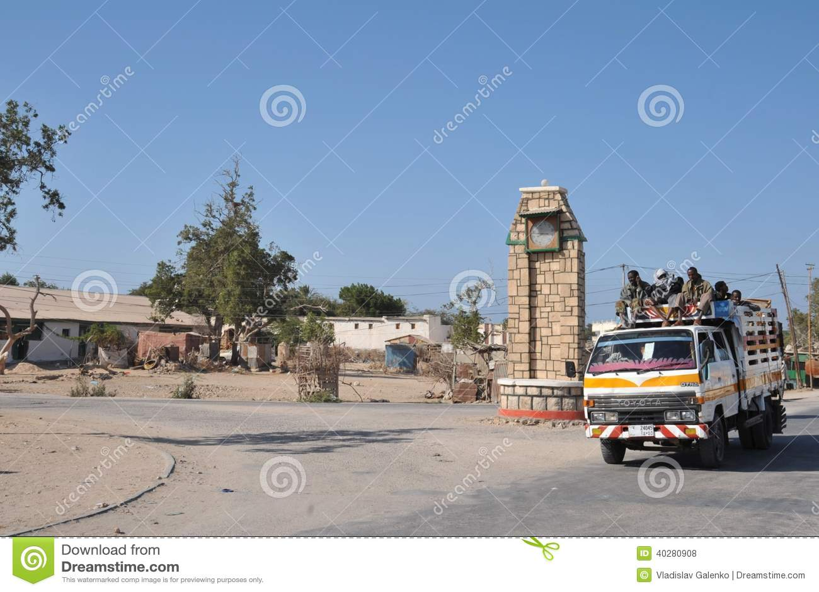 В улицах города Berbera