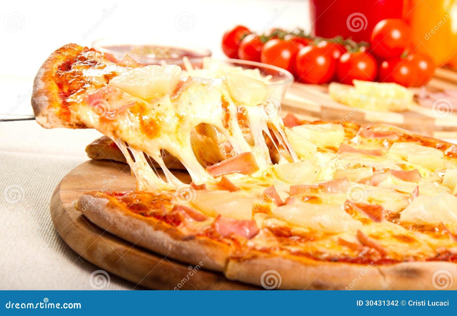 Гаваиская пицца