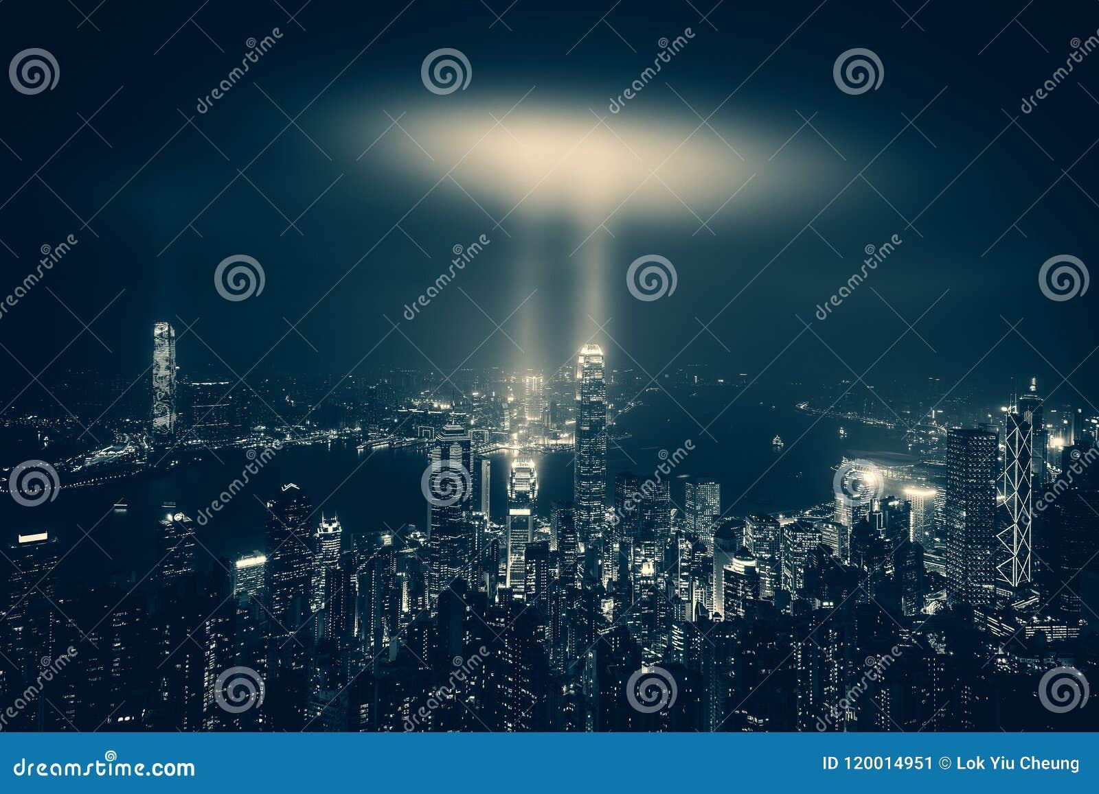 Гавань Гонконга Виктории все время