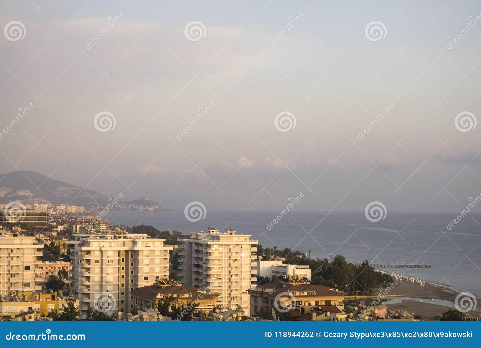 Гавань на Alanya турецкий riviera