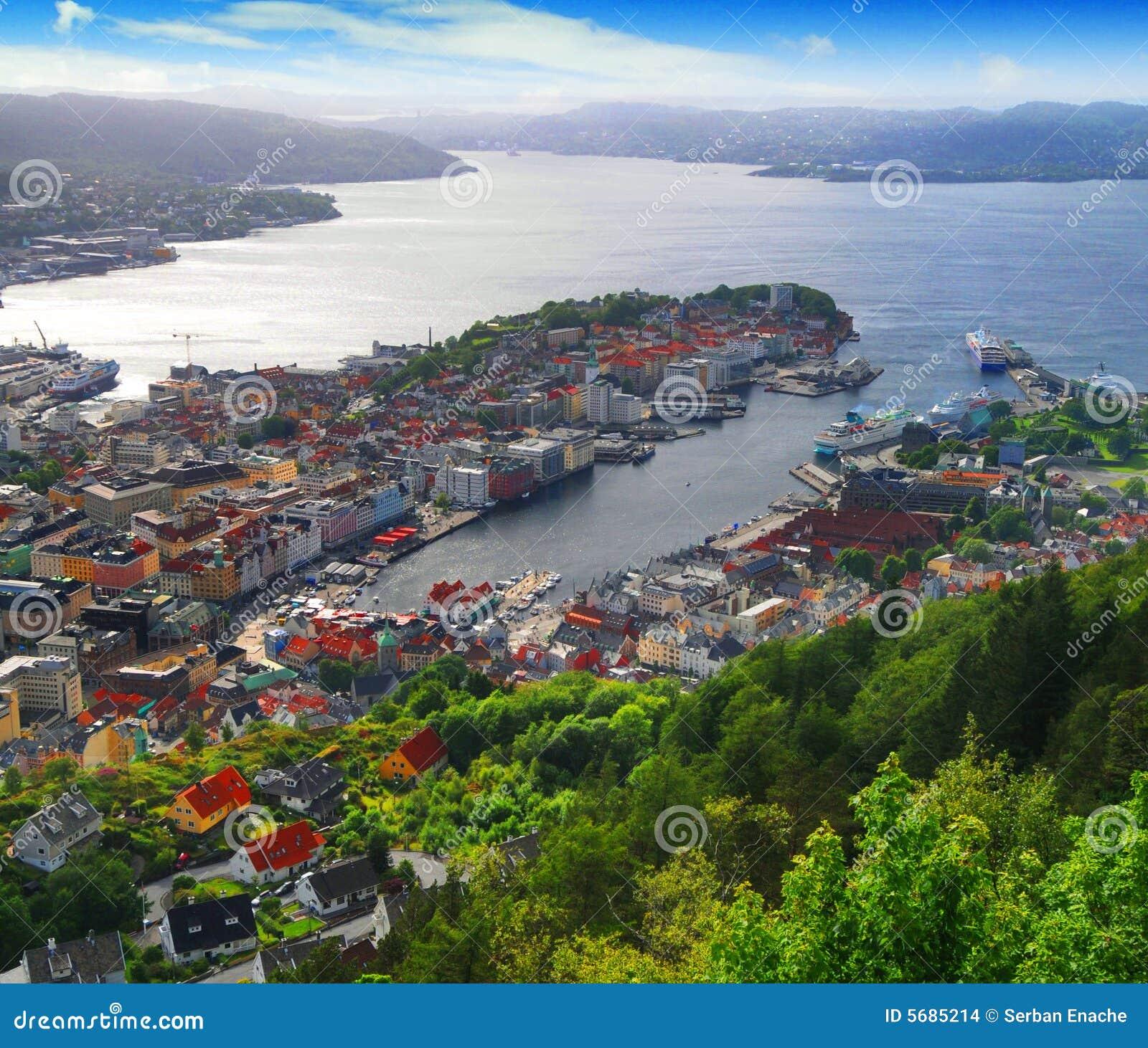 гавань Норвегия bergen