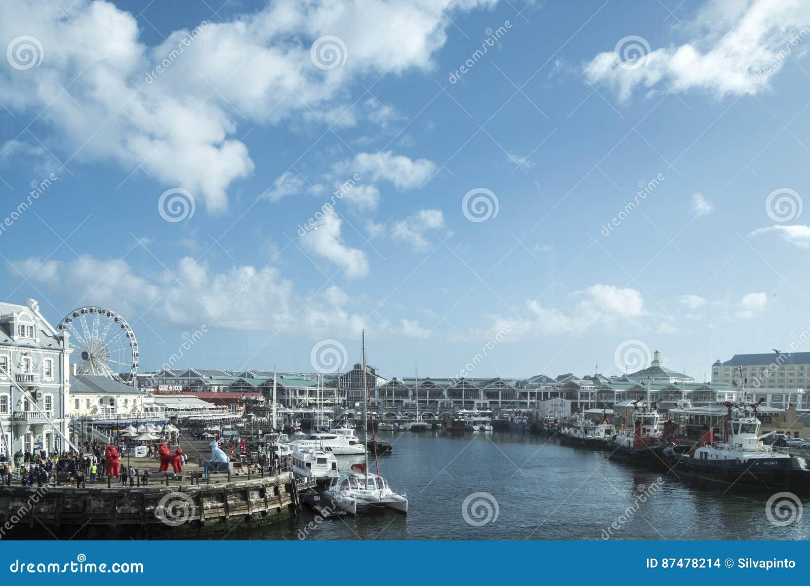 Гавань портового района