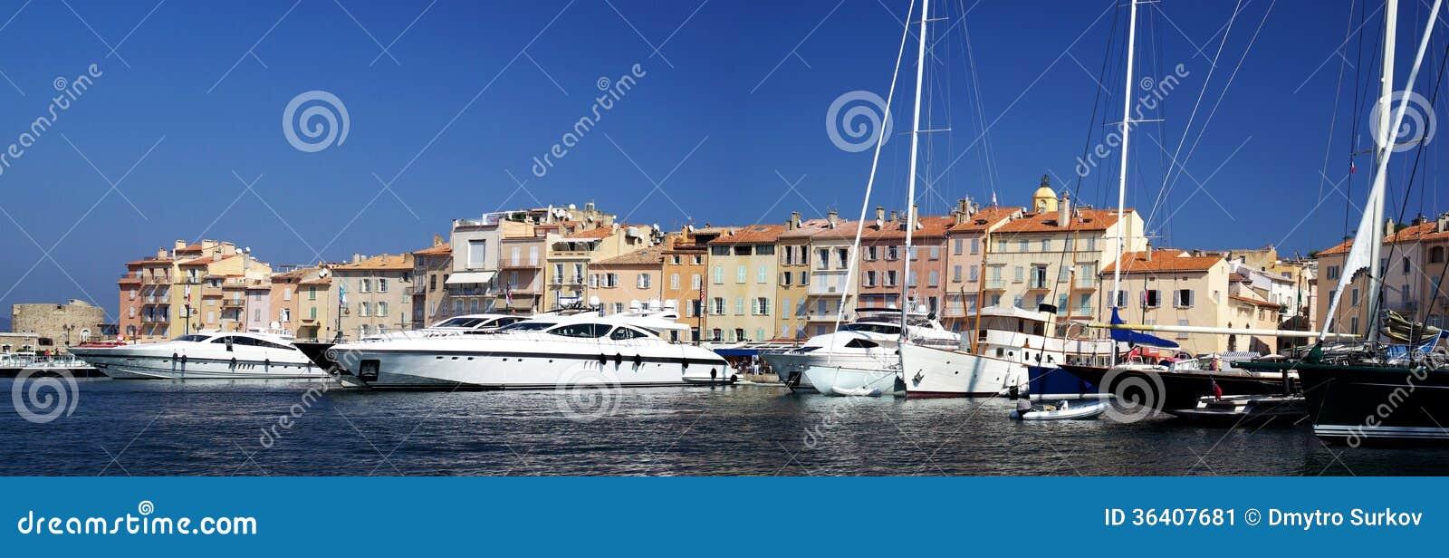 Гавань St Tropez