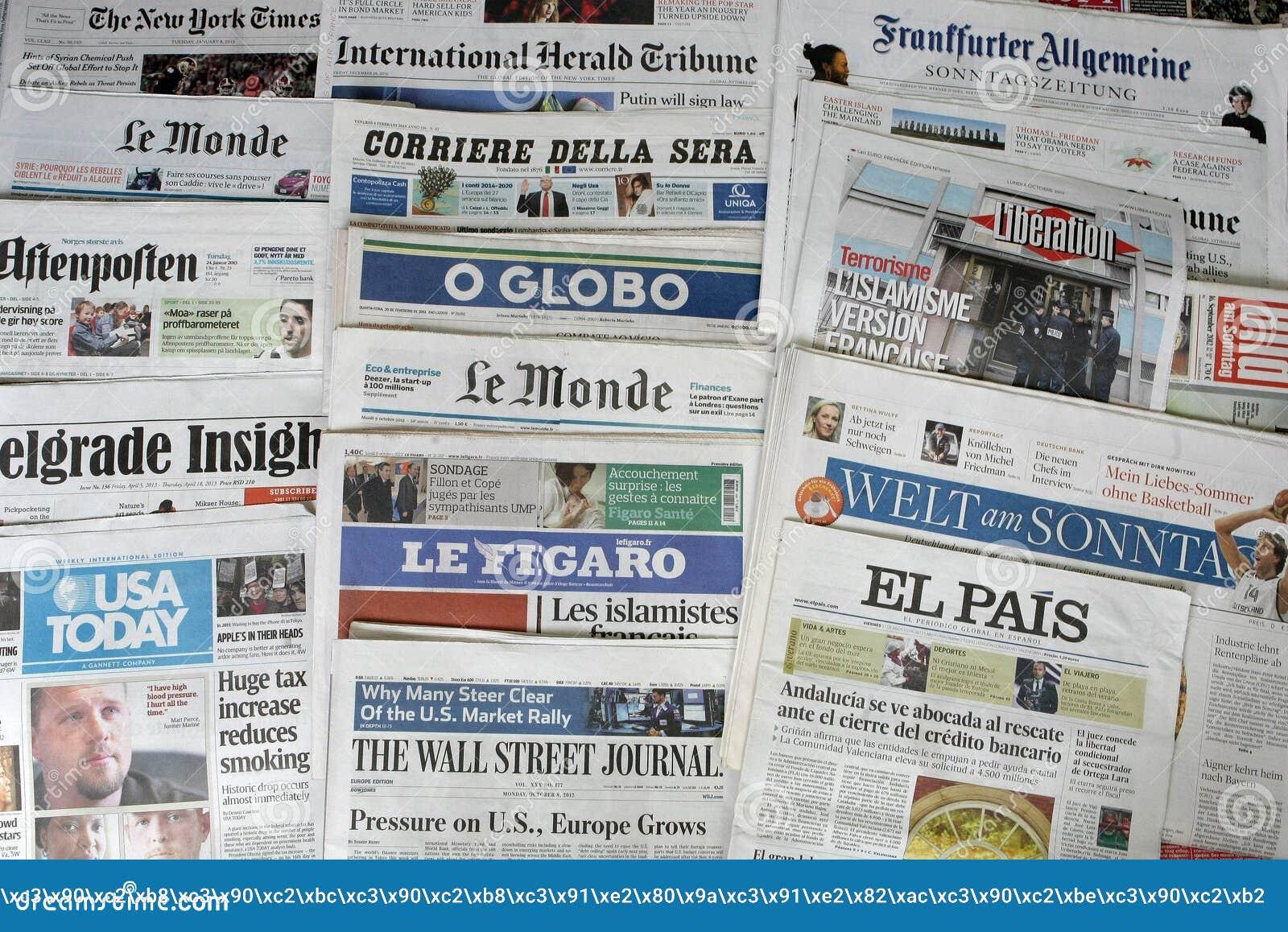 Картинки по запросу газеты мира картинки