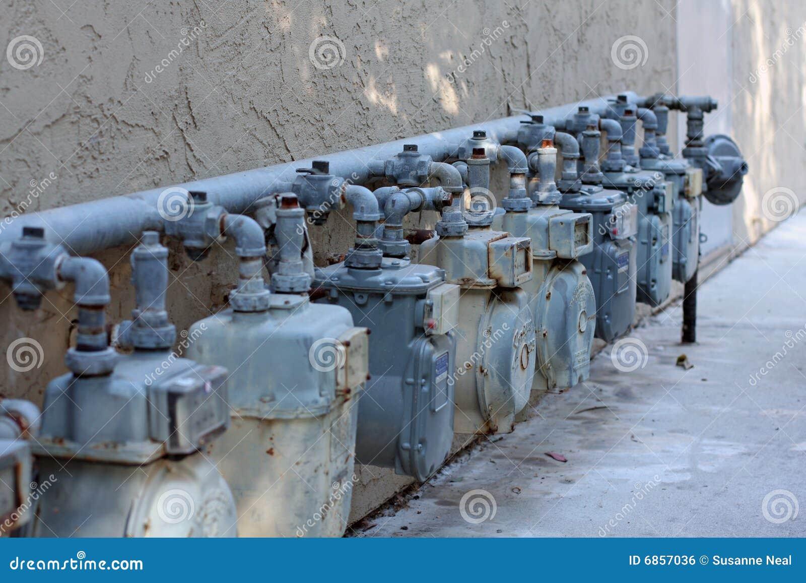 газовые счетчики естественного рядка