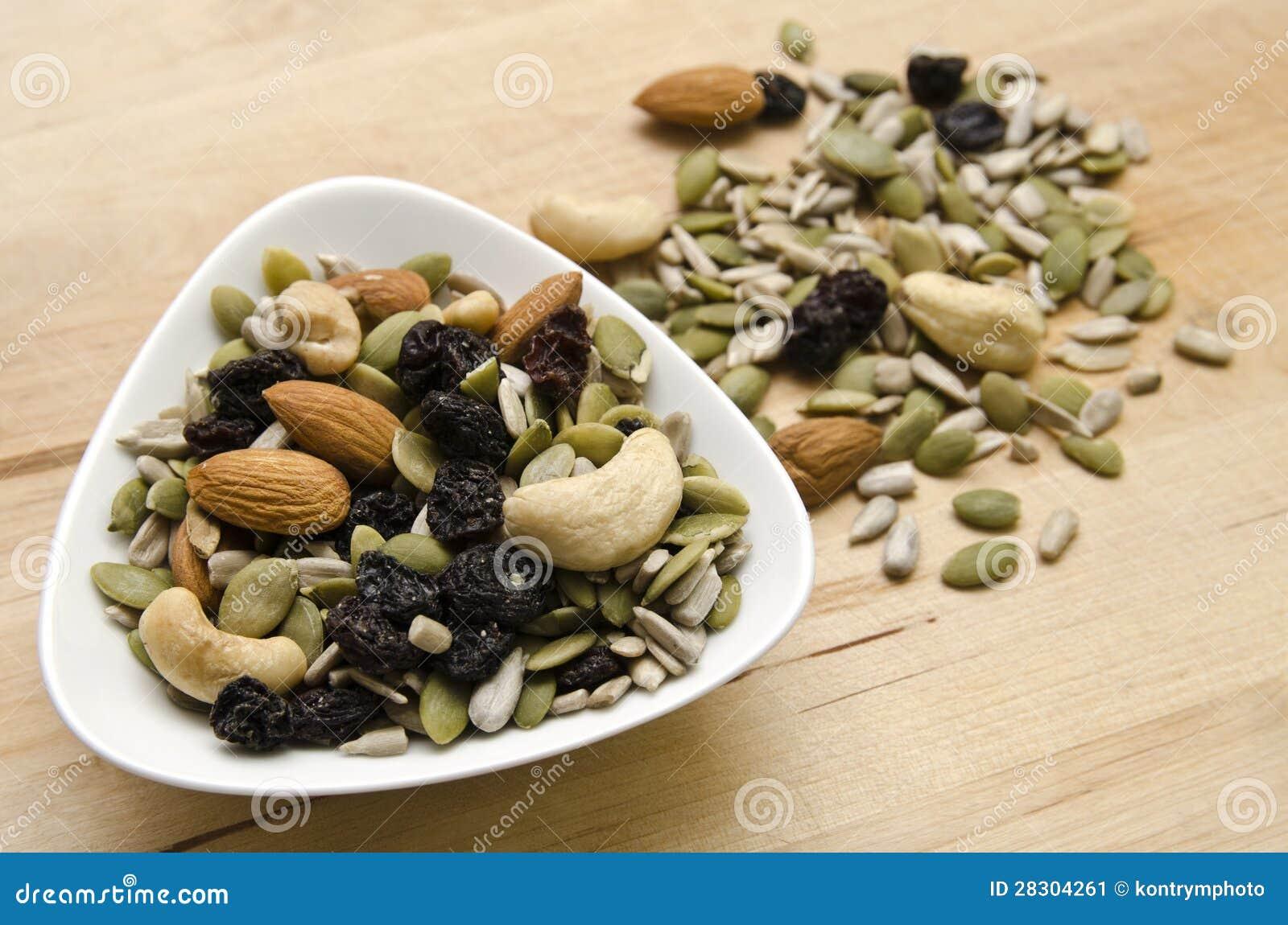 Гайки и семена