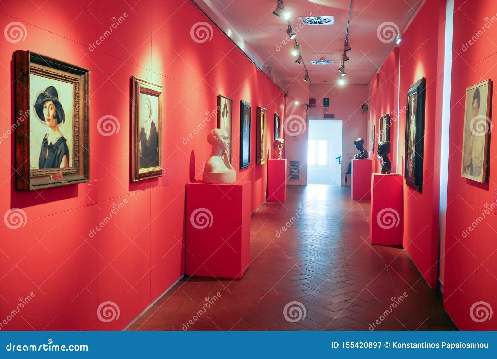 Галерея современного и современного искусства в Риме, Италии