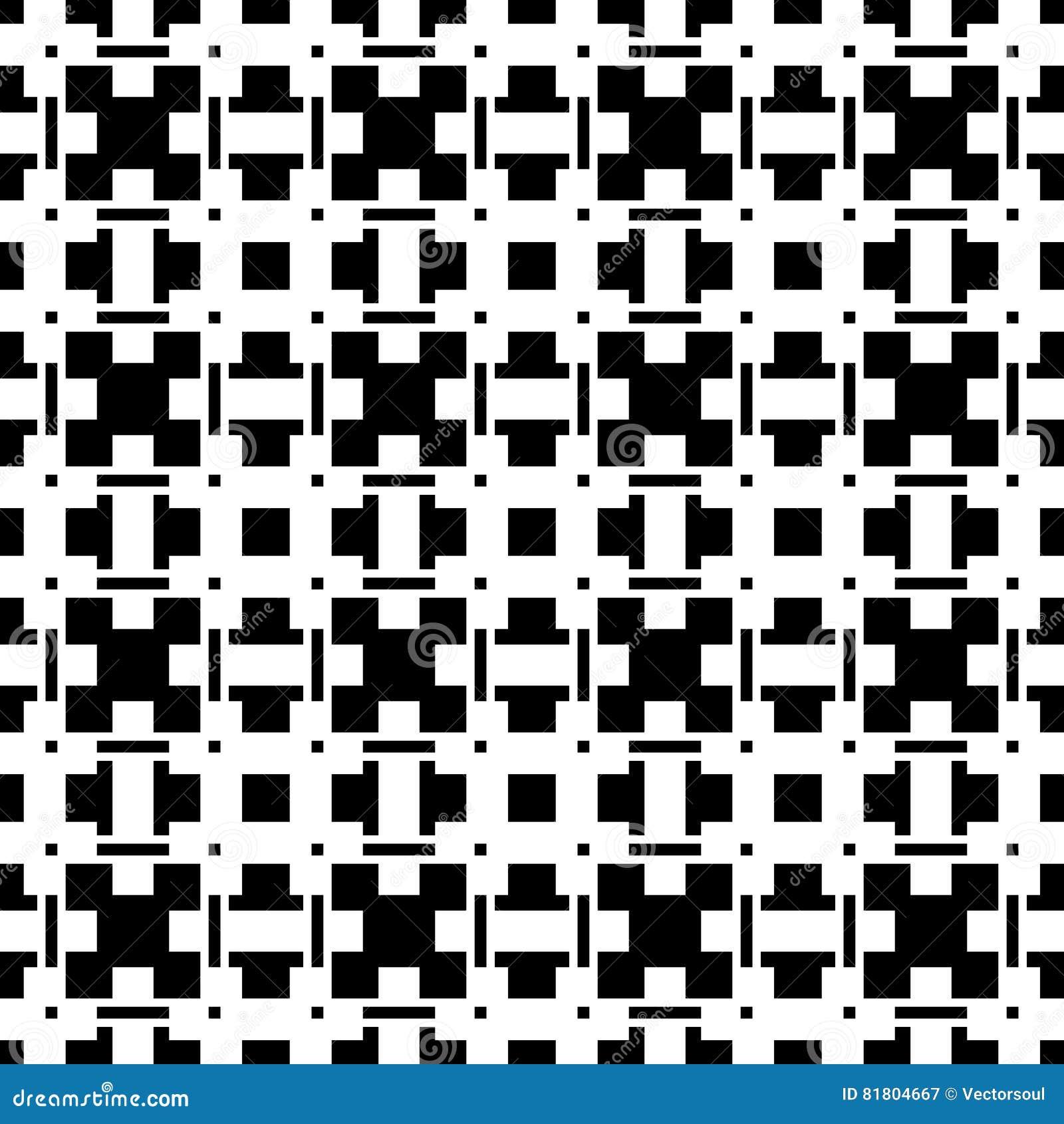 Геометрические абстрактные черно-белые картина/текстура