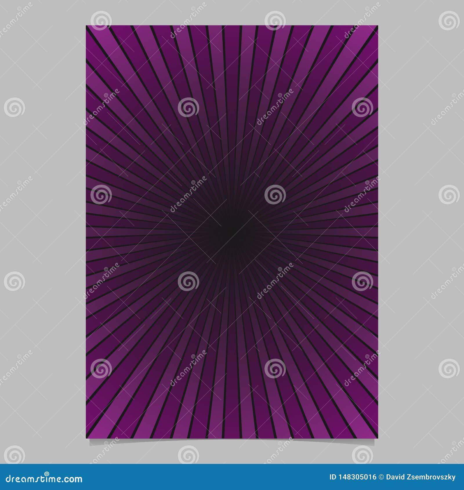 Геометрический шаблон крышки брошюры лучей солнца конспекта градиента