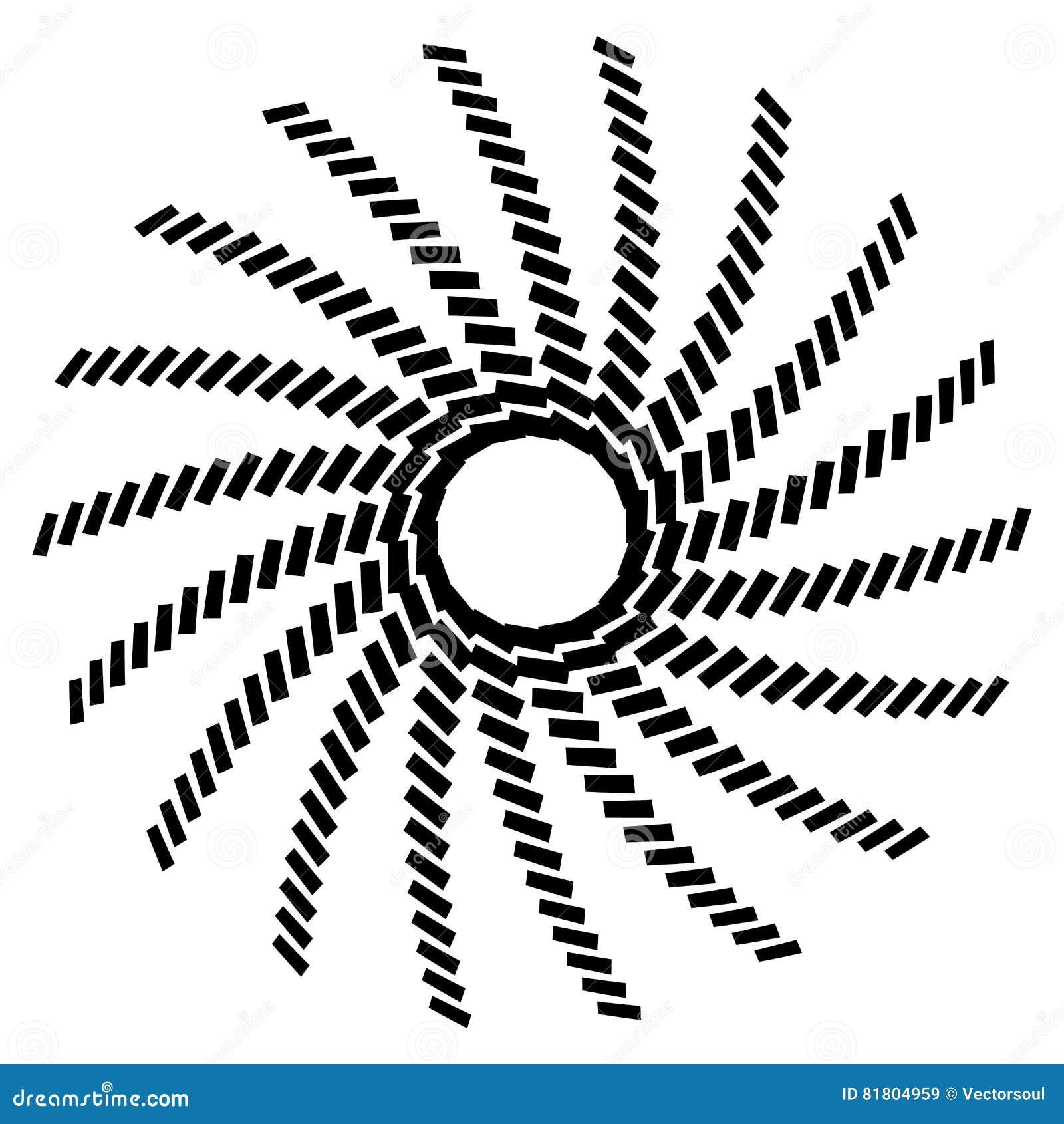 Геометрический элемент круга Круговой график с геометрическими линиями