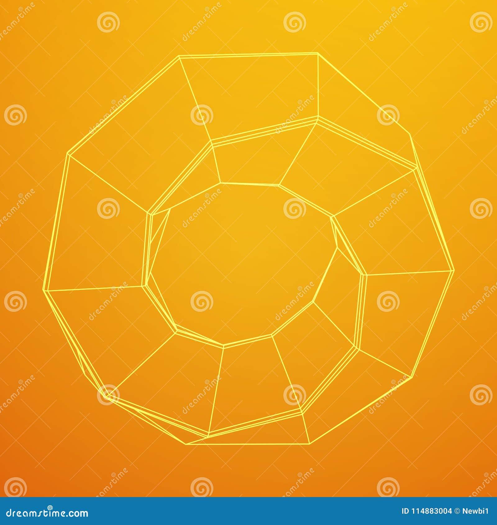 Геометрия кольца прокладки Mobius священная