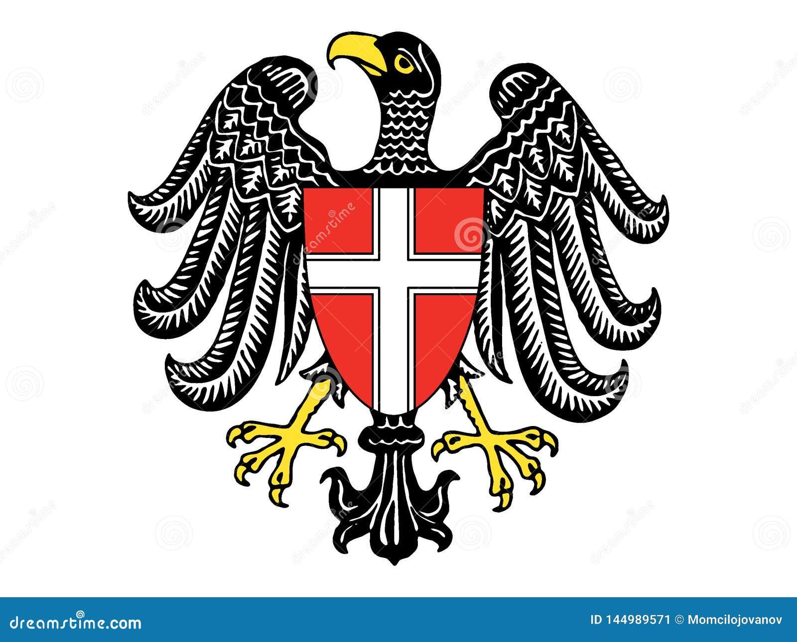 Герб австрийского государства Вены
