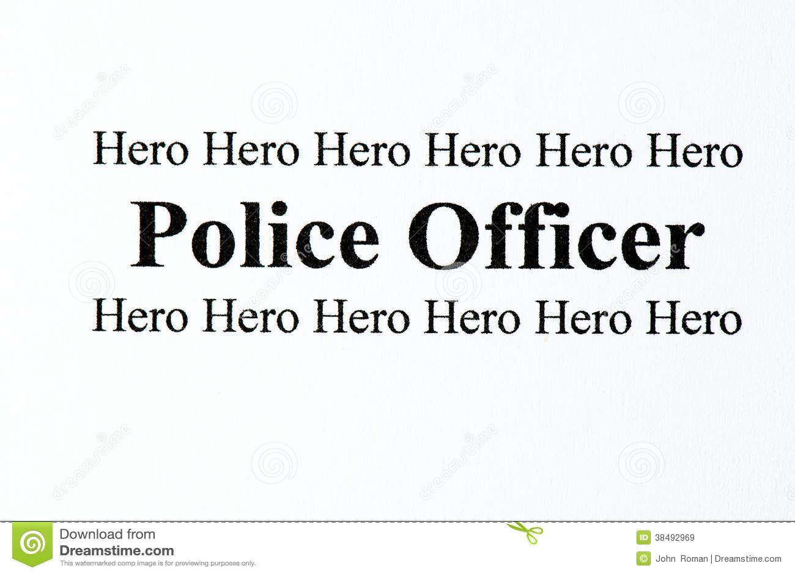 Герой полиции