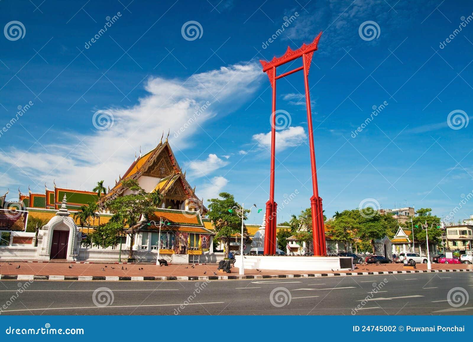 Гигантское качание, висок Sutat, Бангкок