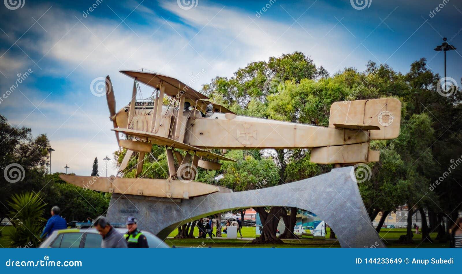 Гидросамолет Santa Cruz Fairey используемый Coutinho и Cabral для их трансатлантичес