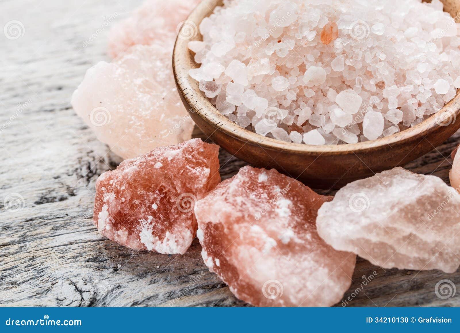 Гималайское розовое кристаллическое соль