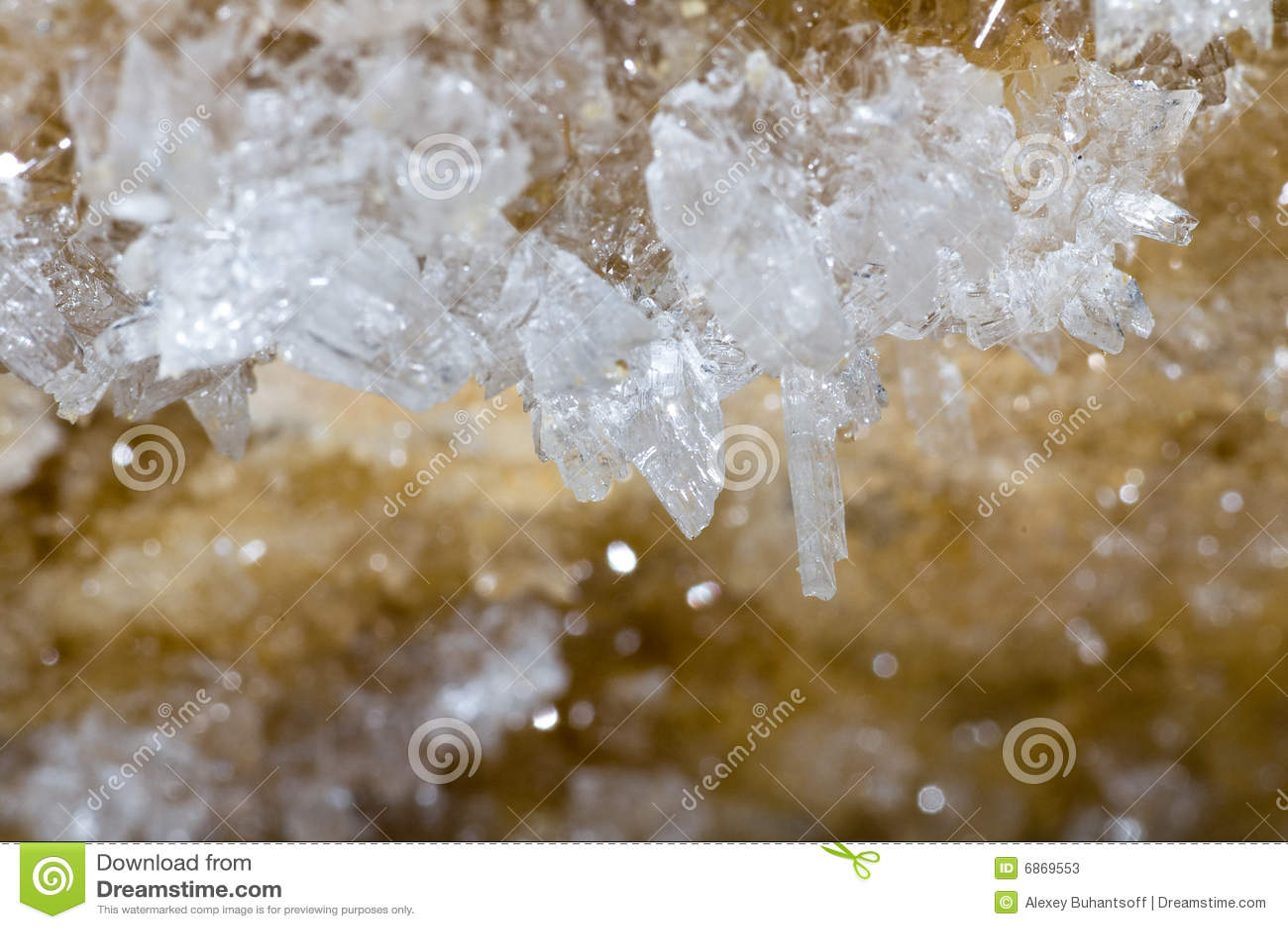гипс кристаллов