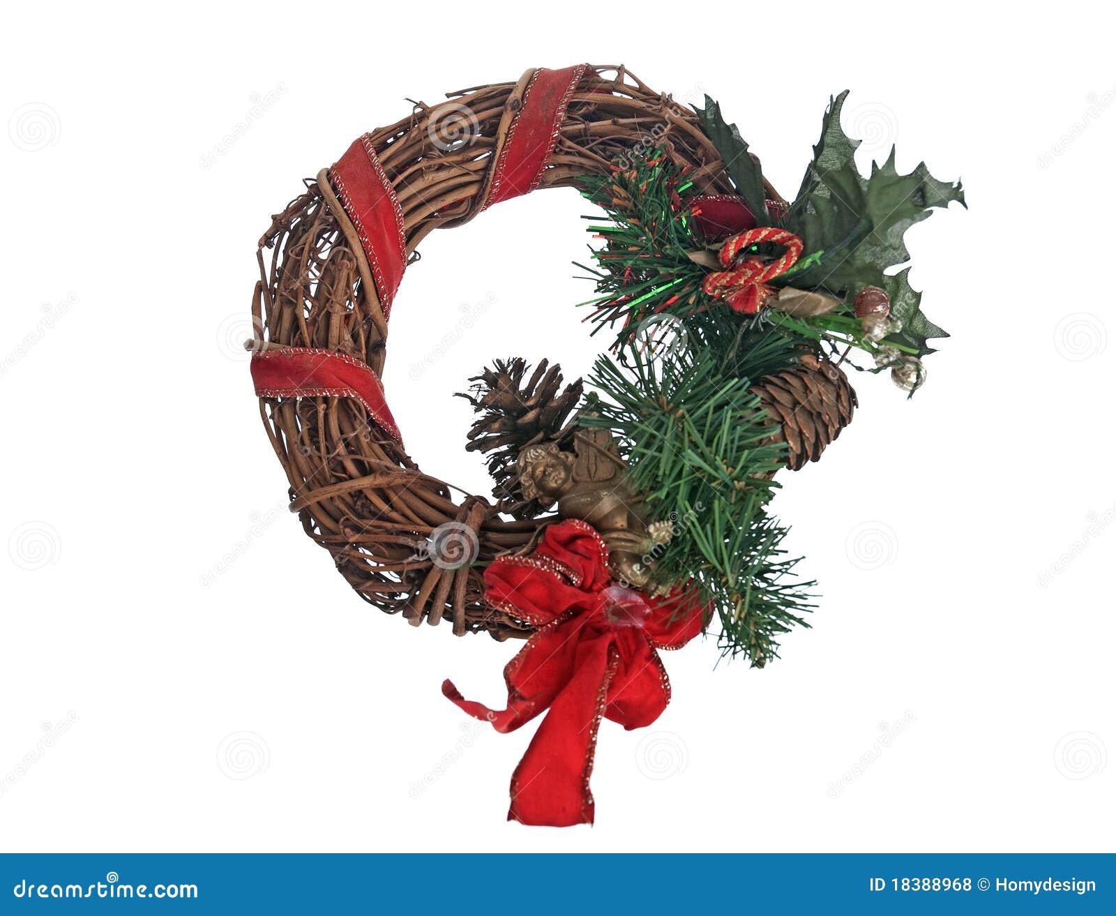 гирлянда двери рождества