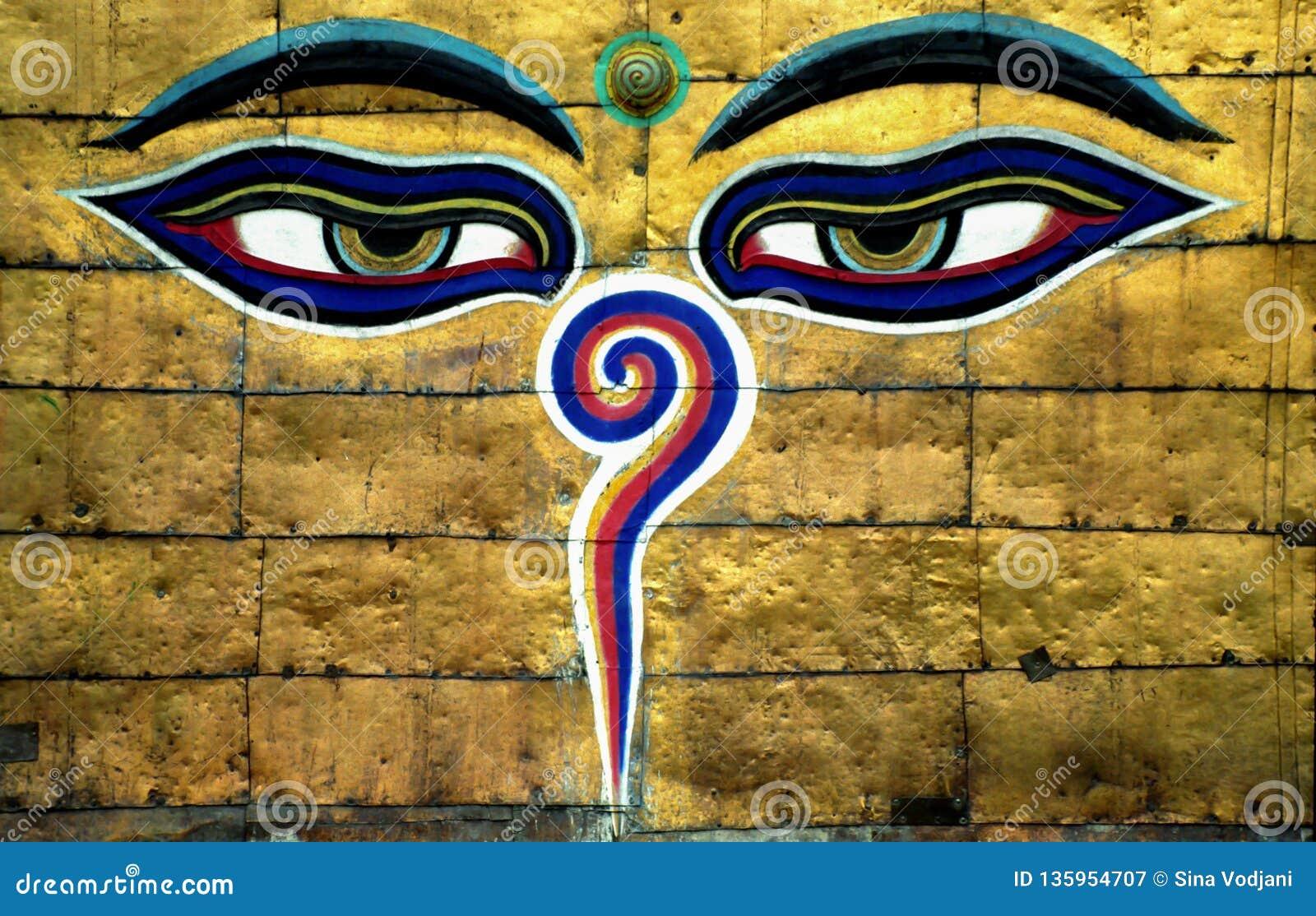 Глаза премудрости Buddhas