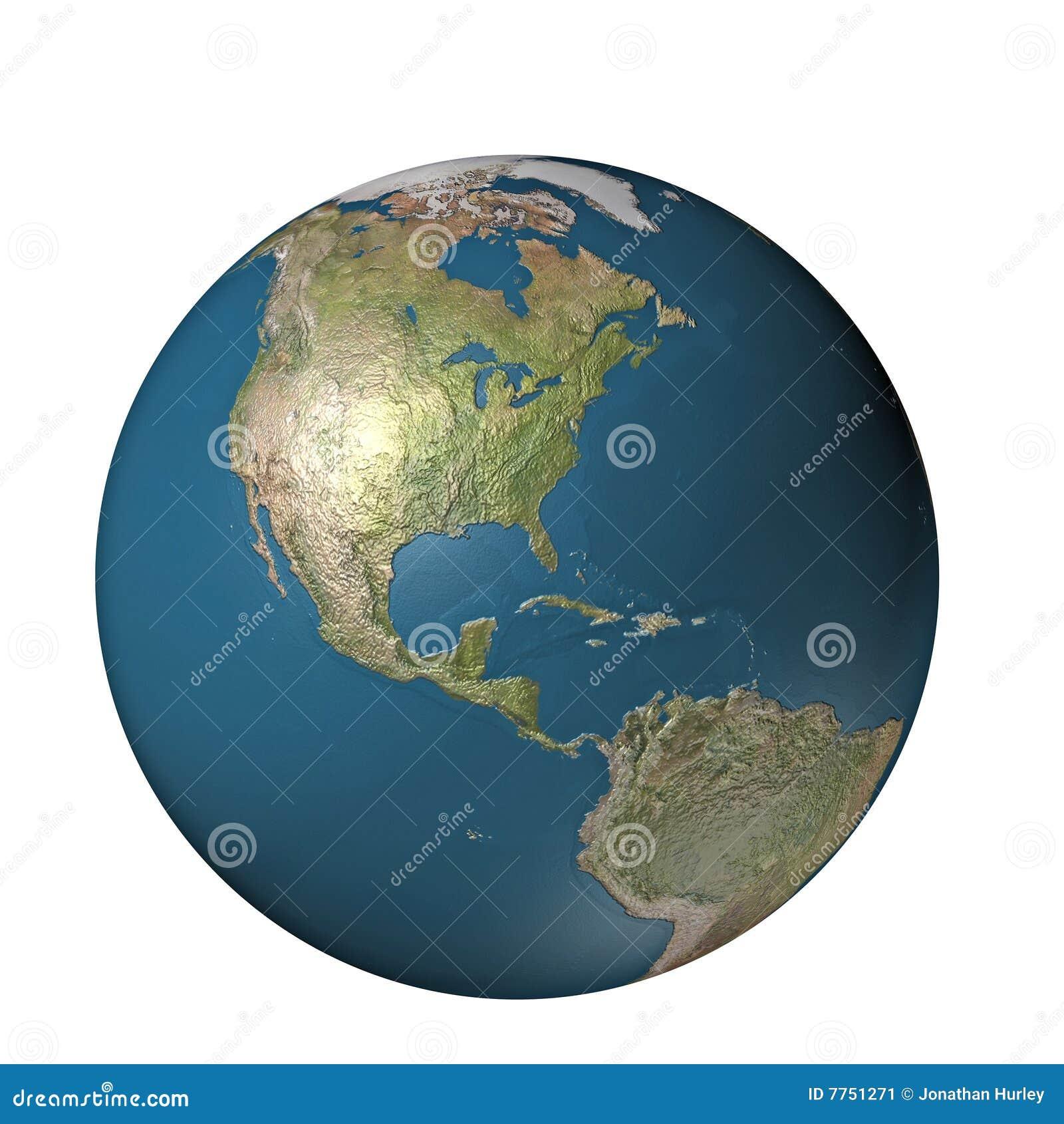 глобус америки цифровой
