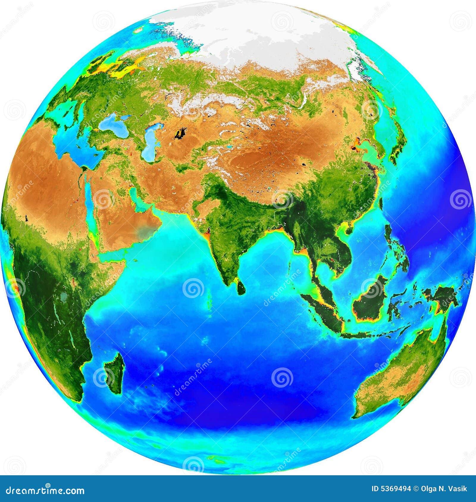 глобус eurasia