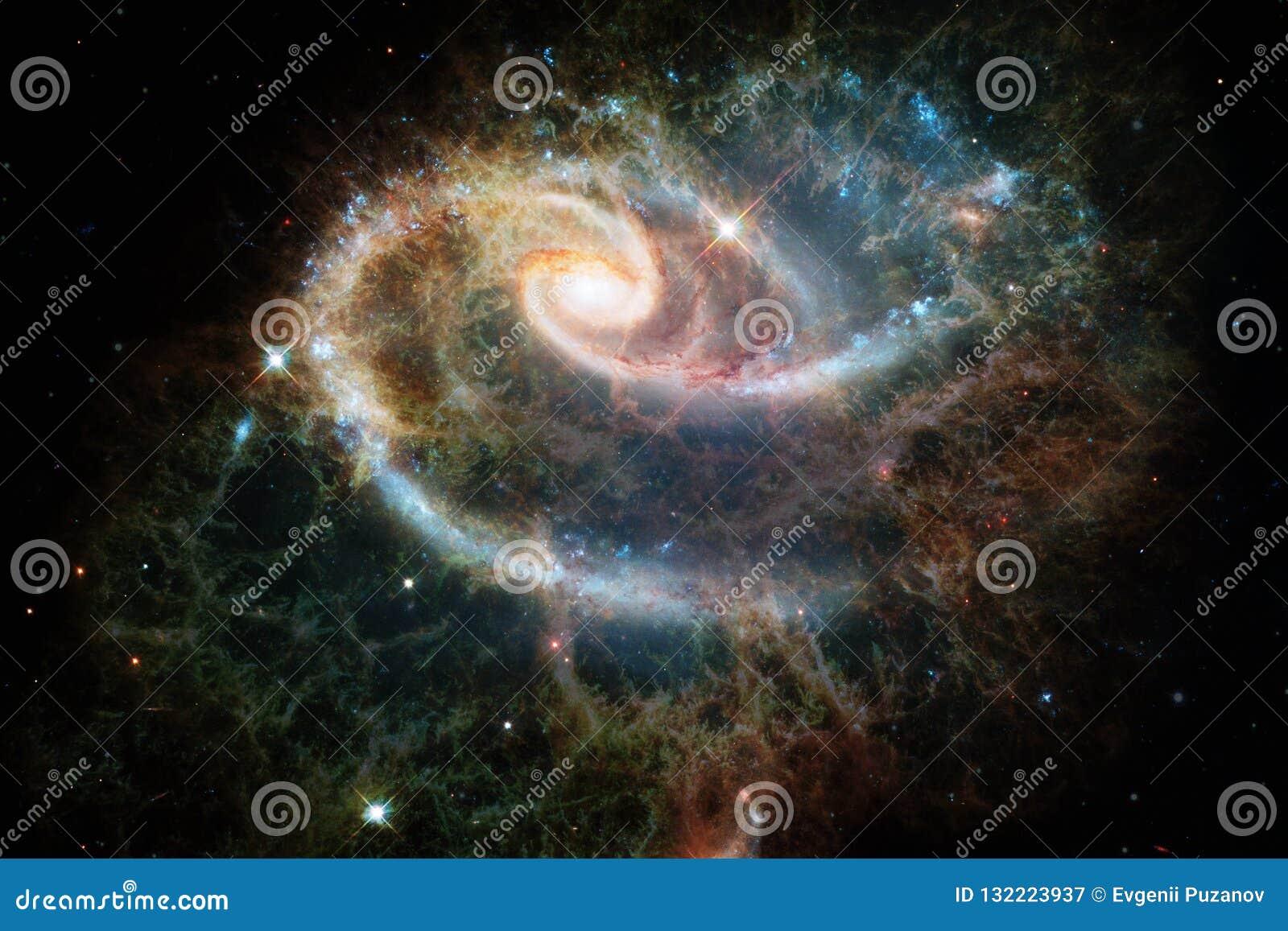 Глубокий космос Фантазия научной фантастики в высоком разрешении идеальном для обоев