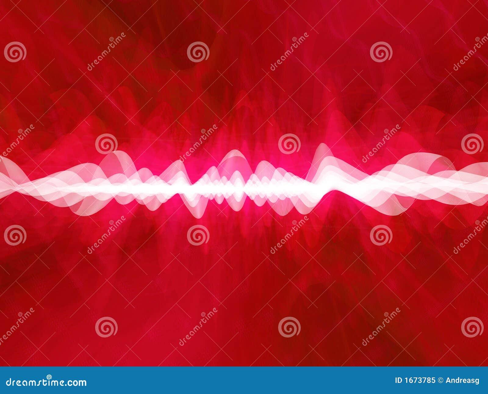 глубокий красный цвет искажения