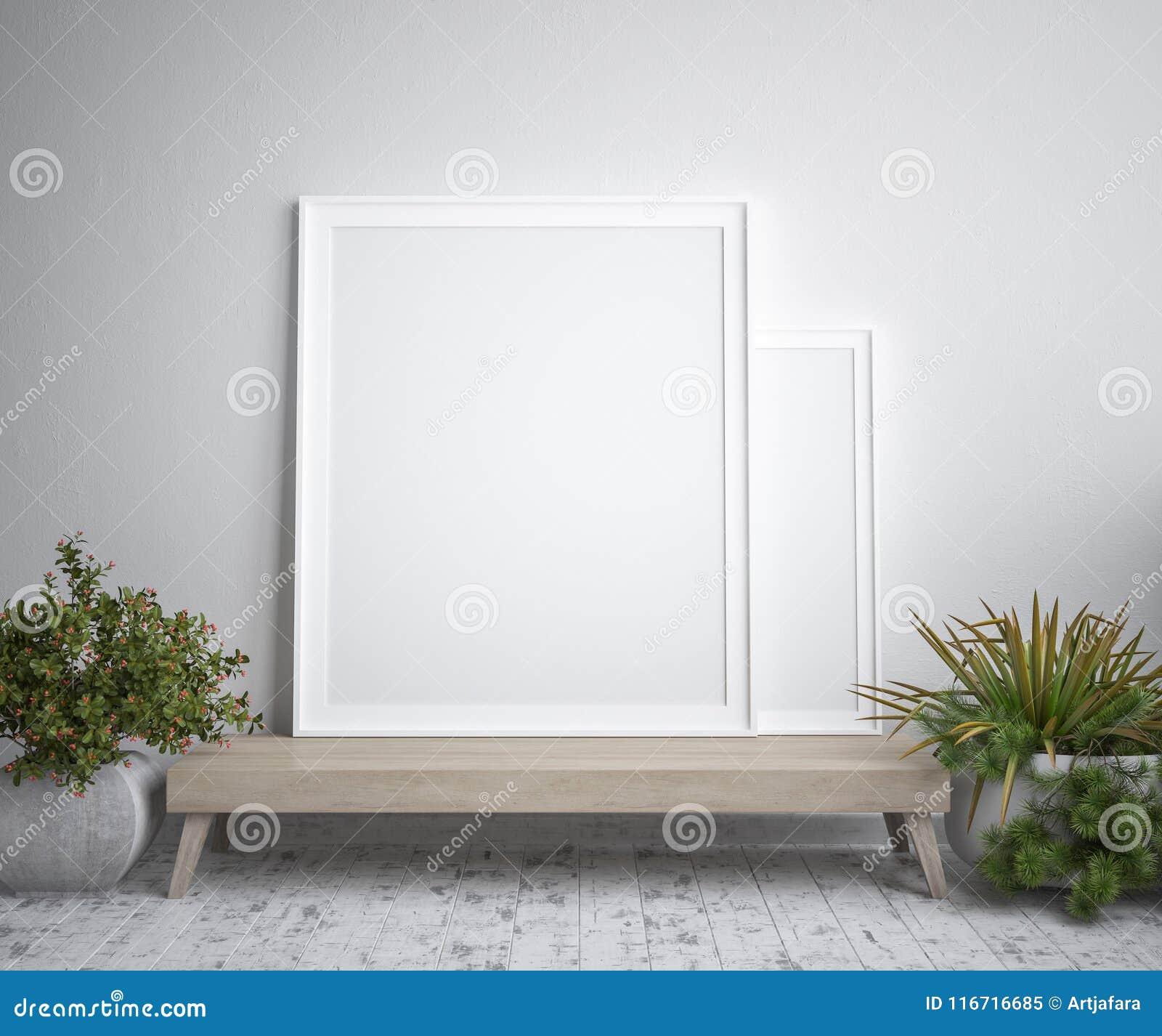 Глумитесь вверх по рамке плаката, внутреннему минимализму, скандинавскому дизайну