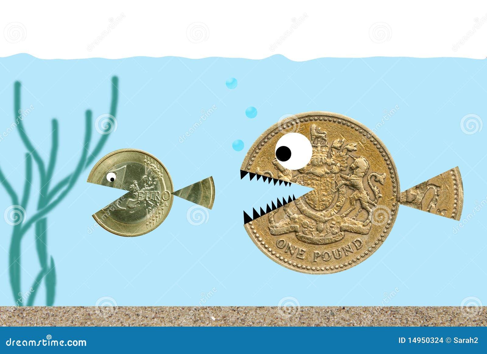 гнать фунт евро