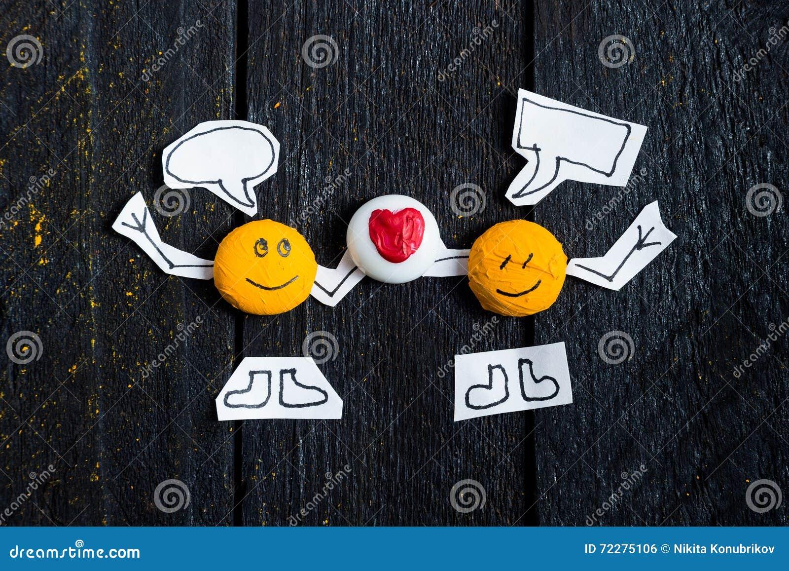 Download Говорить стороны 2 улыбок стоковое фото. изображение насчитывающей связывайте - 72275106