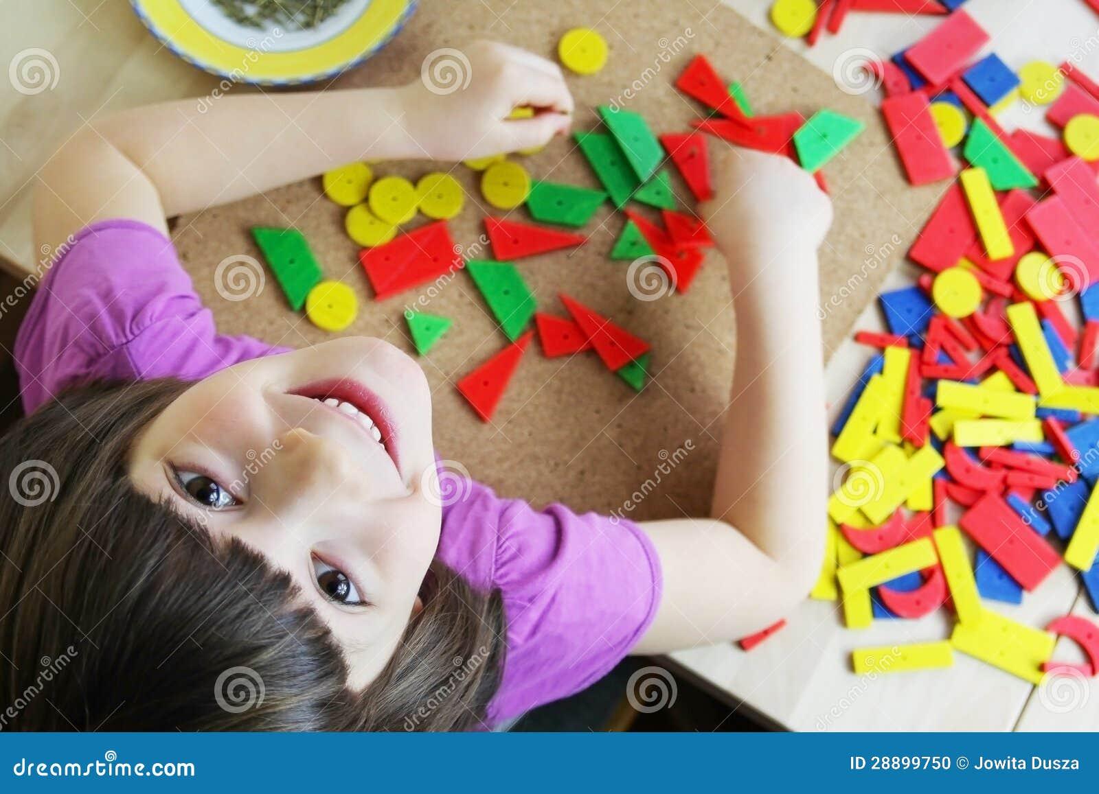 Головоломка Montessori. Preschool.