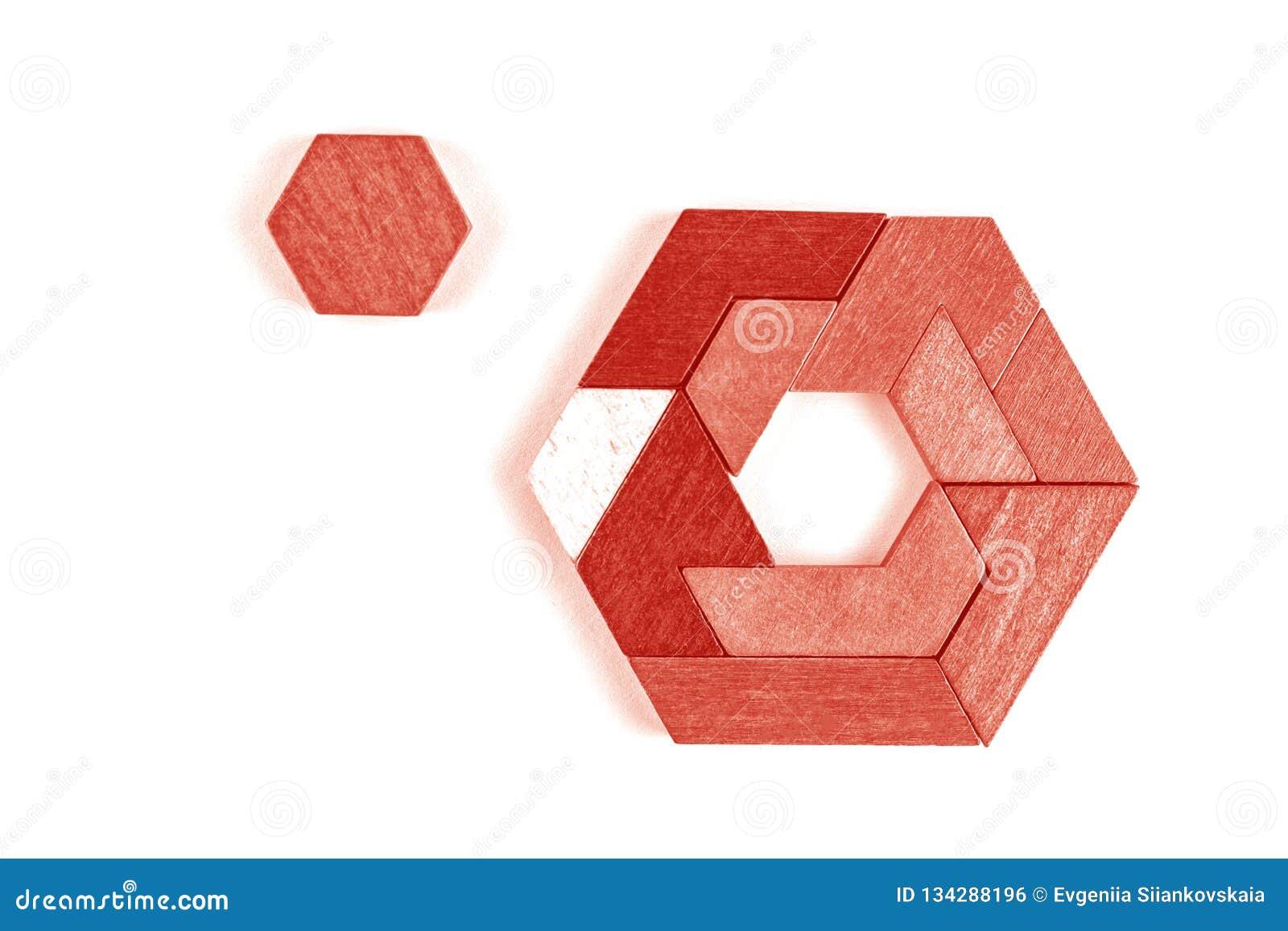 Головоломка с шестиугольниками