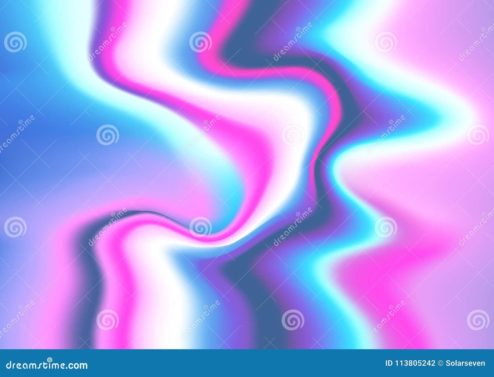 Голографические картины вектора фольги
