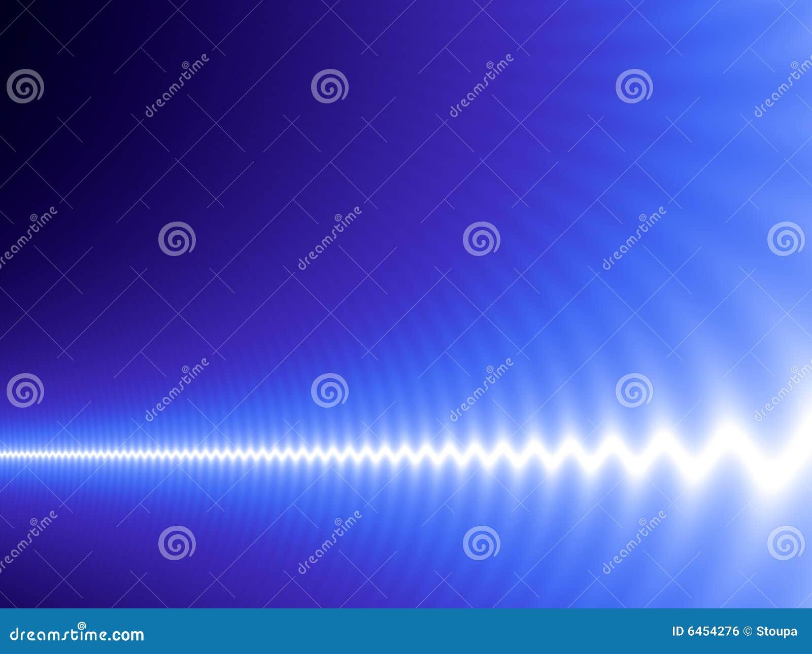 голубая белизна волны