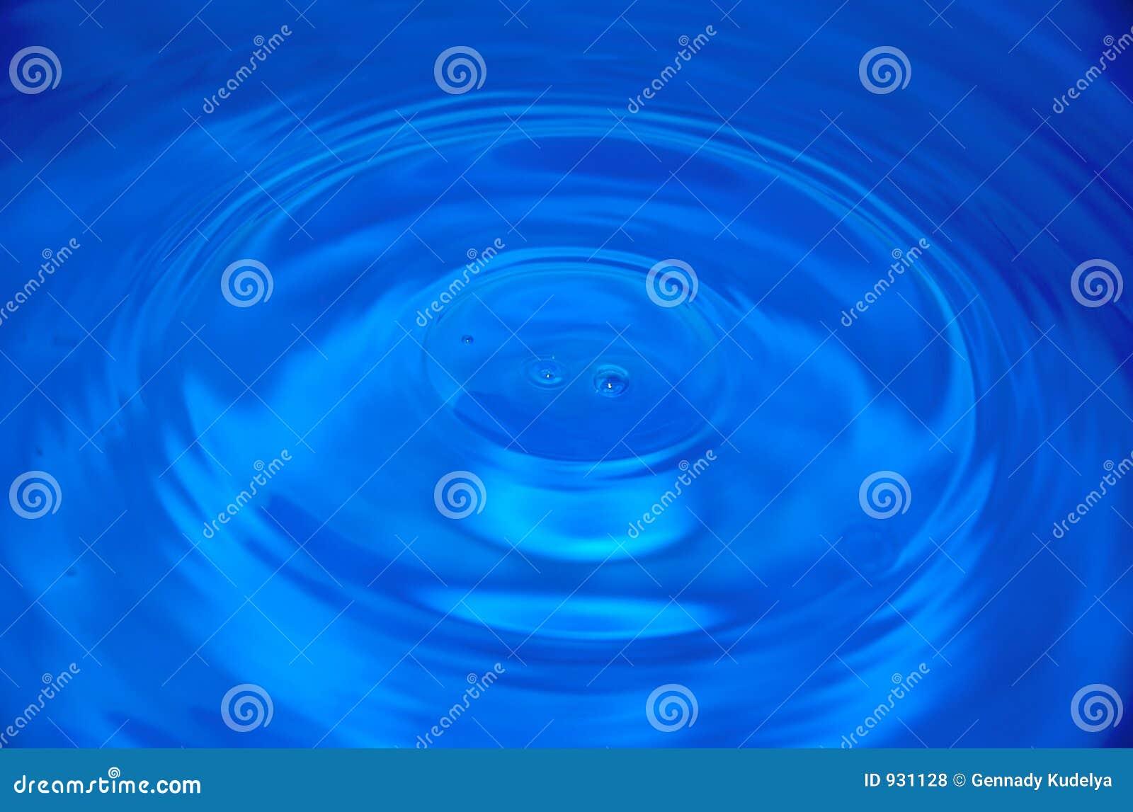 голубая вода капек