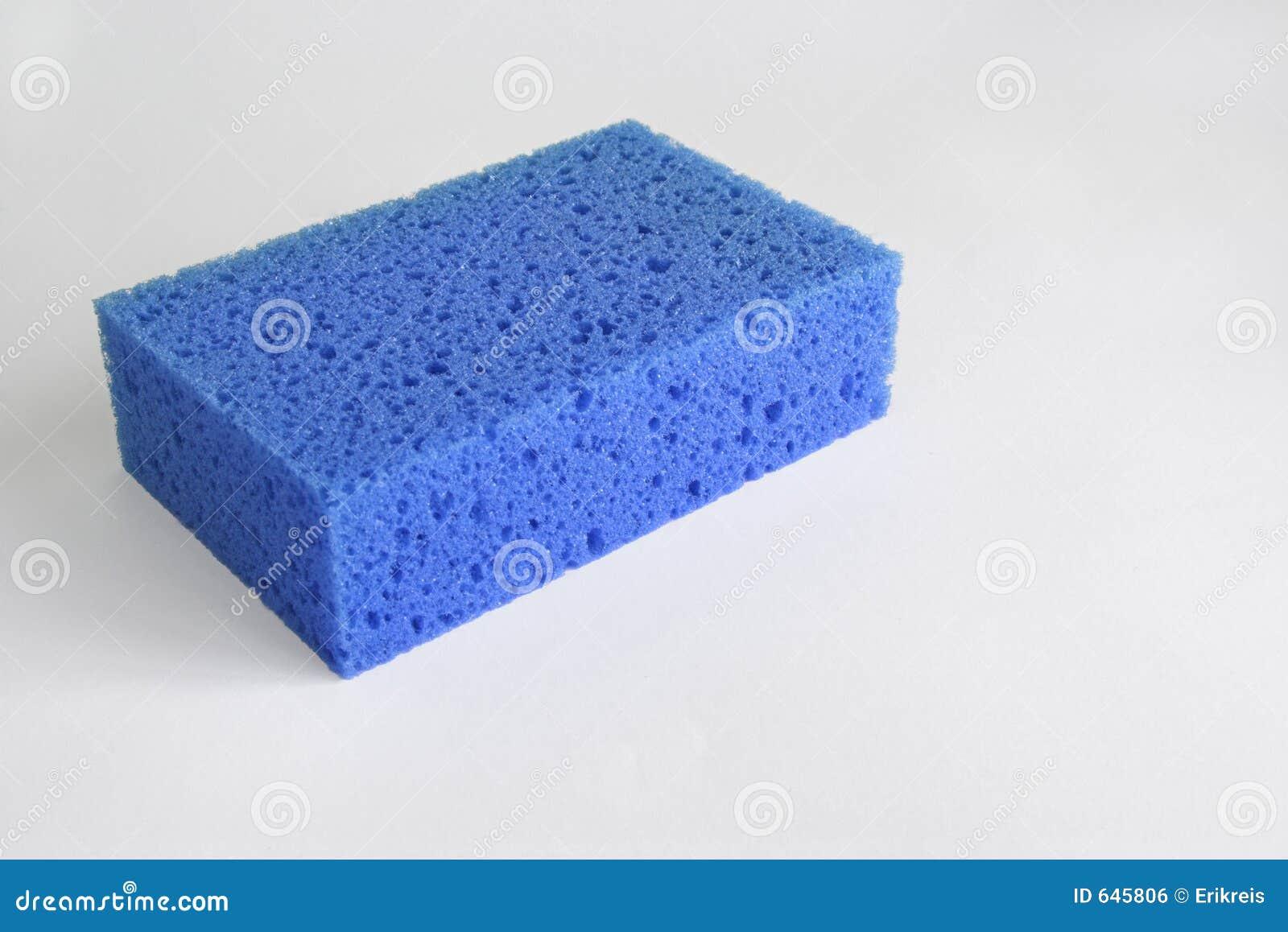 Download голубая губка стоковое фото. изображение насчитывающей grunge - 645806