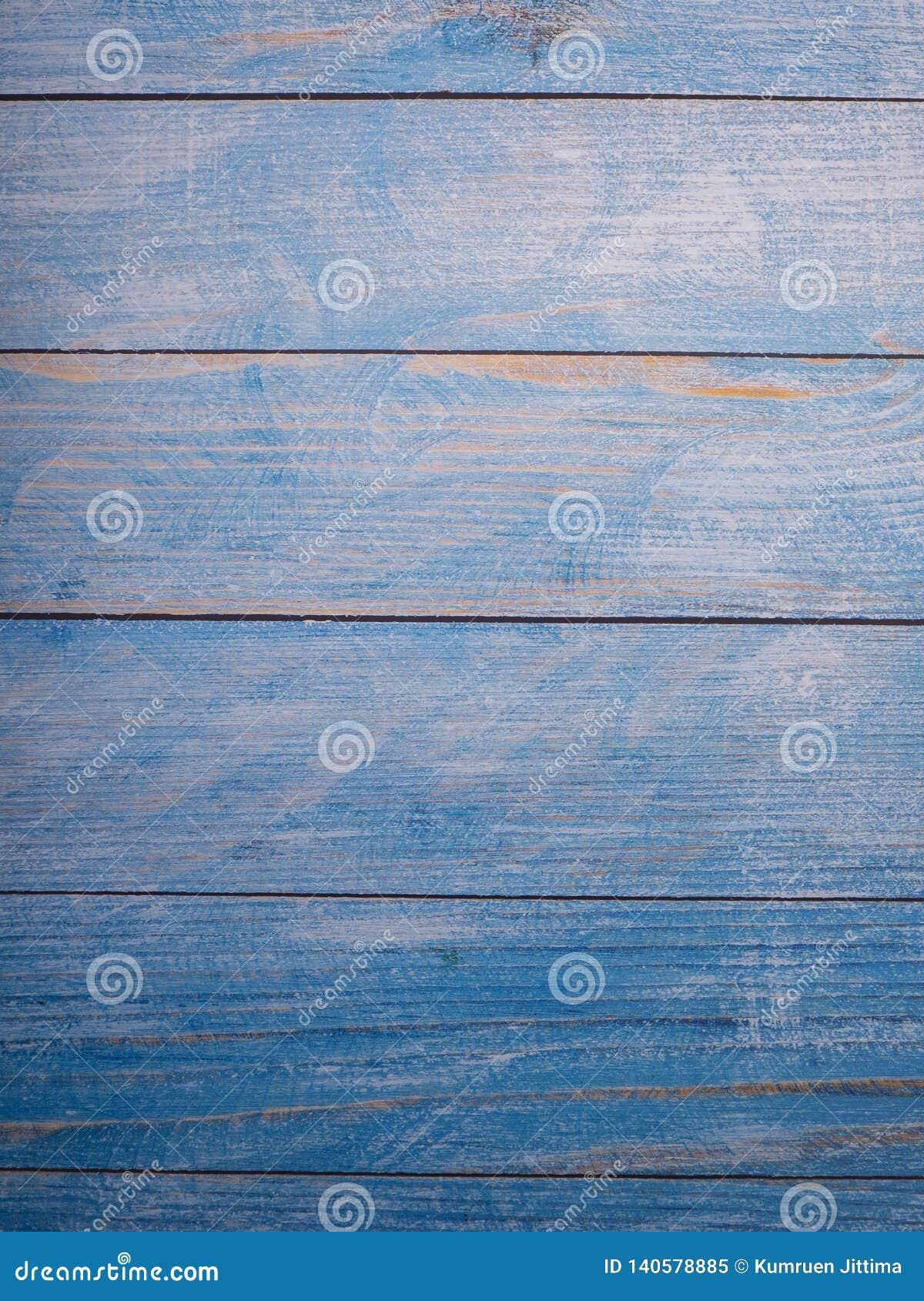 Голубая деревянная предпосылка текстуры предпосылки