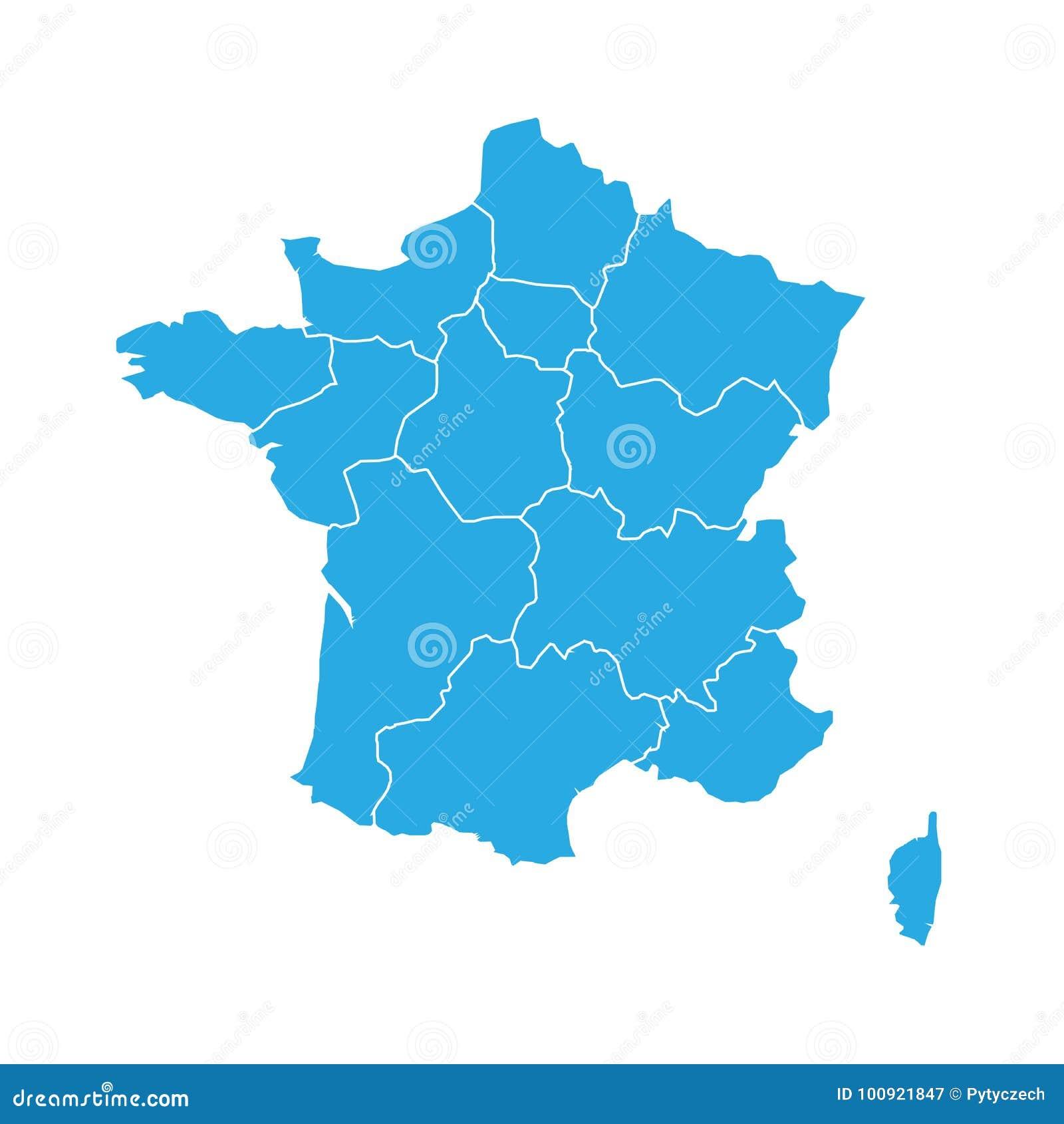 франция голубая карта