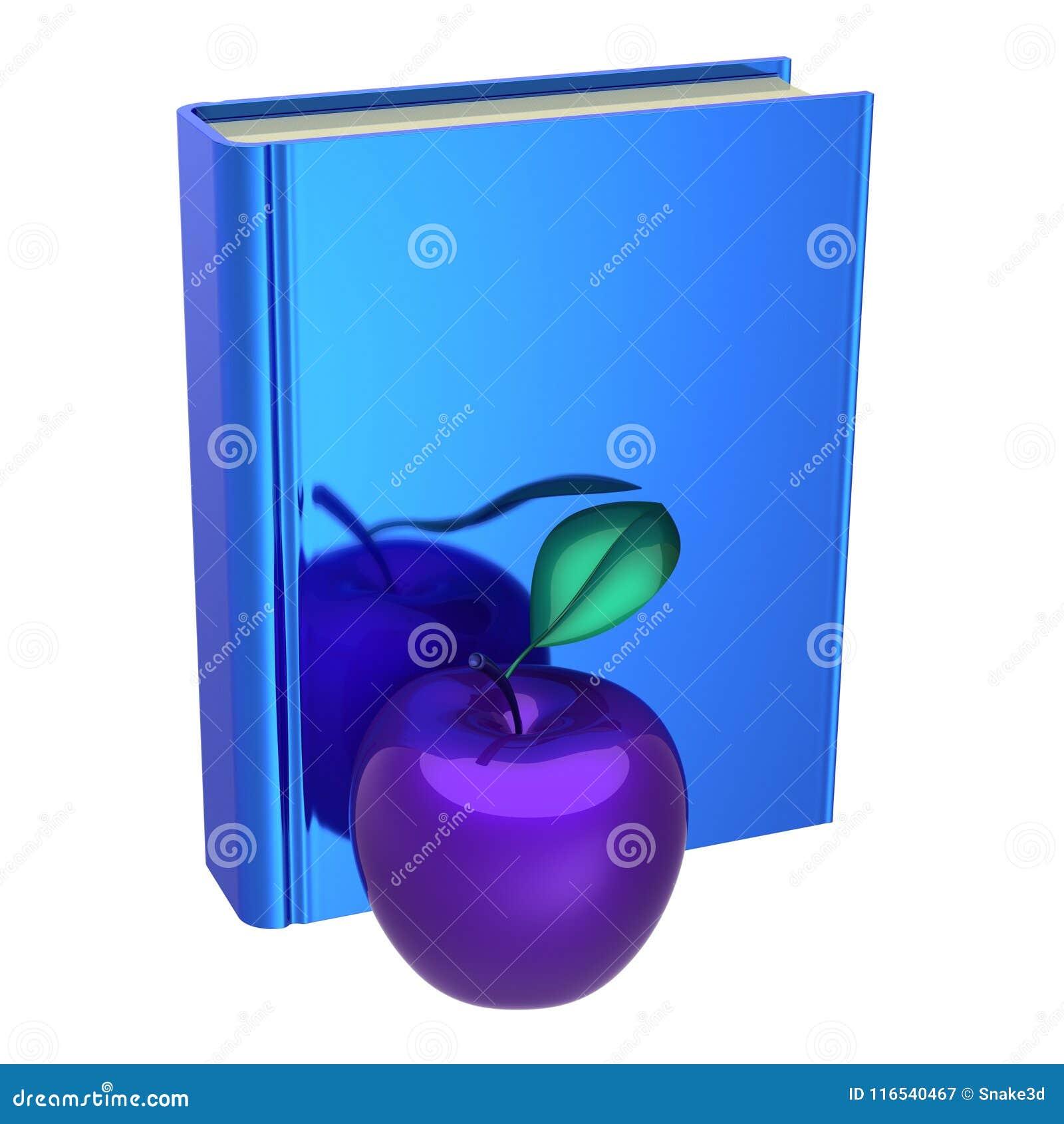 Голубая книга и фиолетовое яблоко